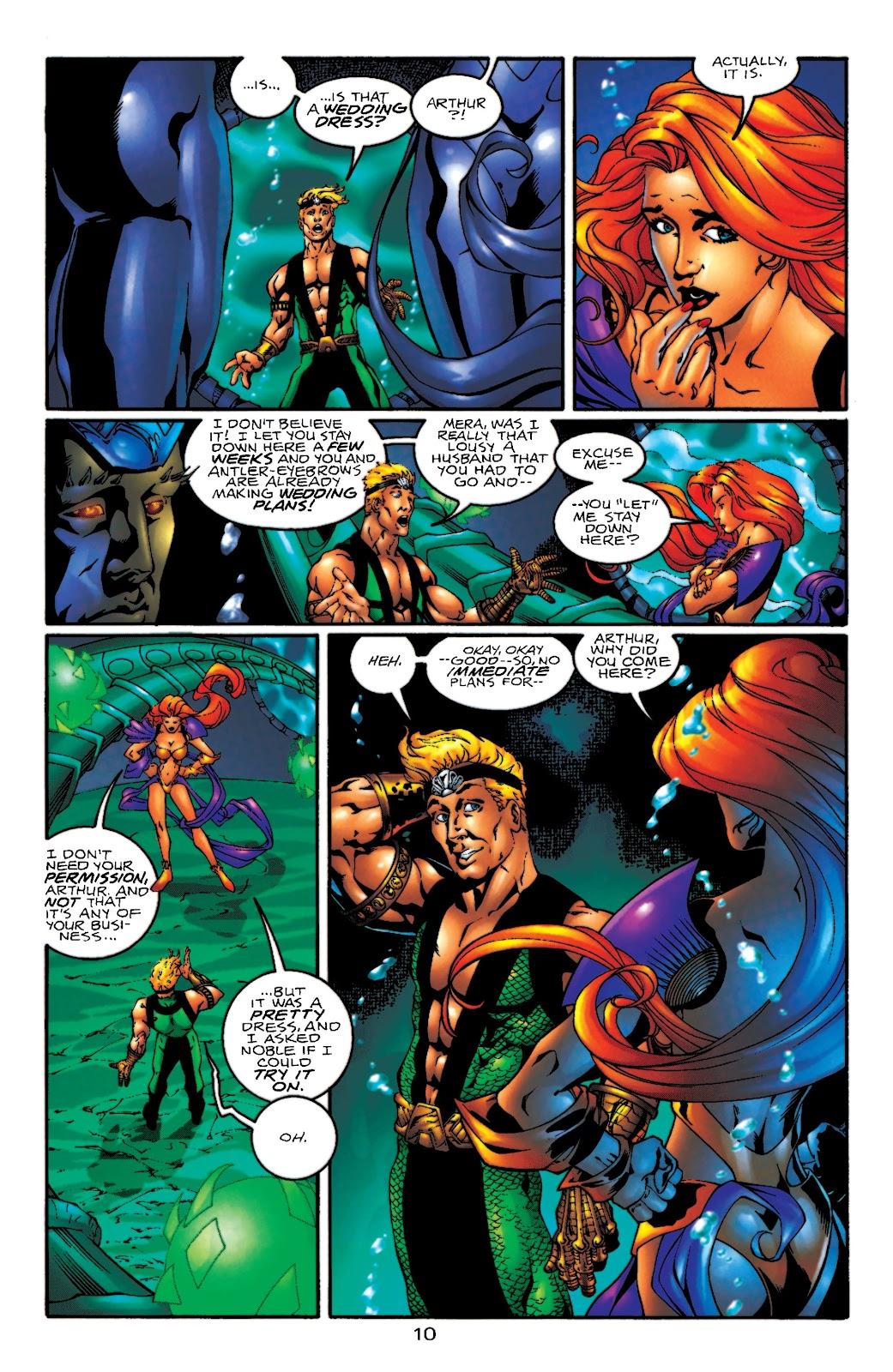 Aquaman (1994) Issue #55 #61 - English 11