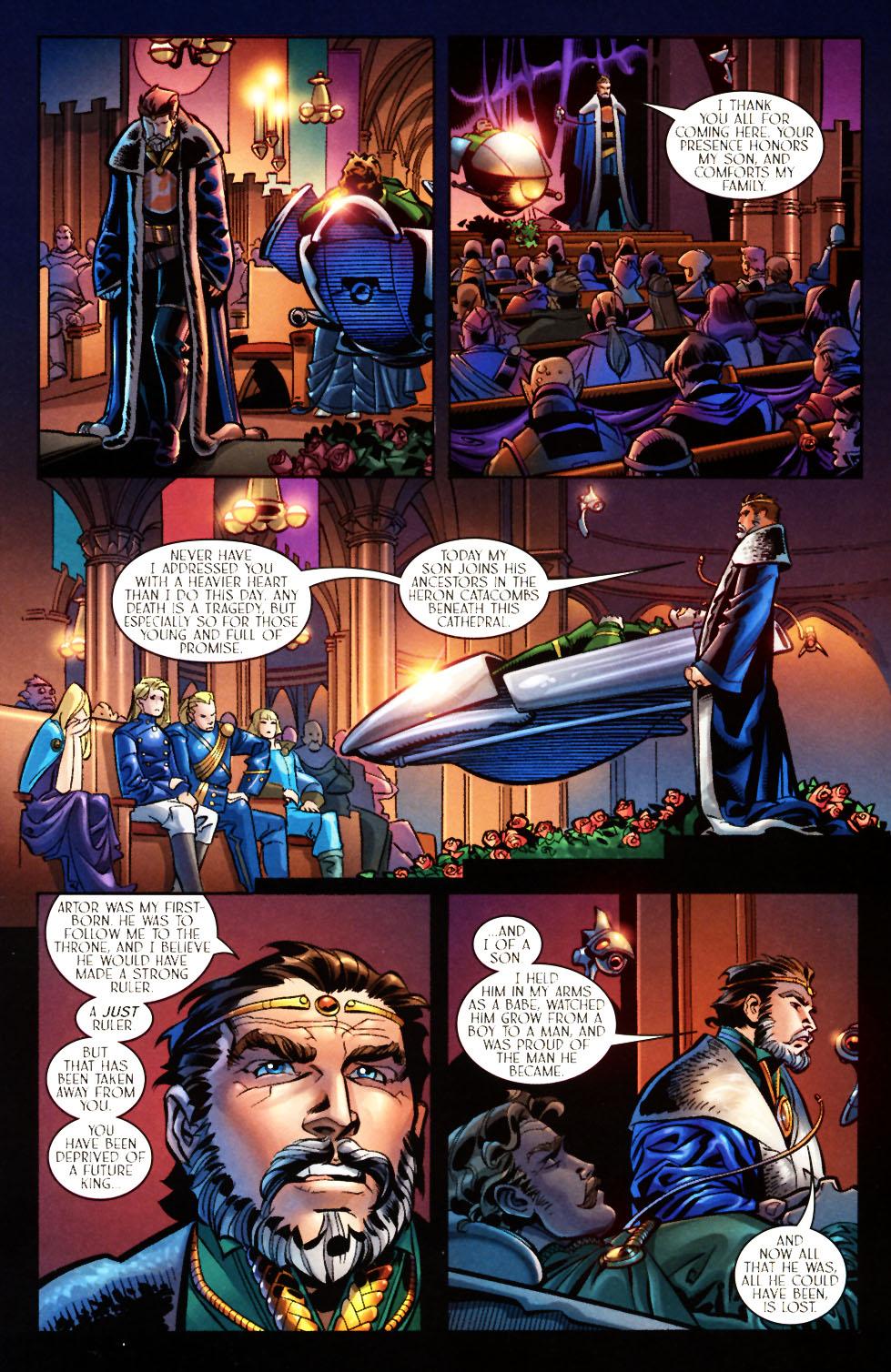 Read online Scion comic -  Issue #7 - 9