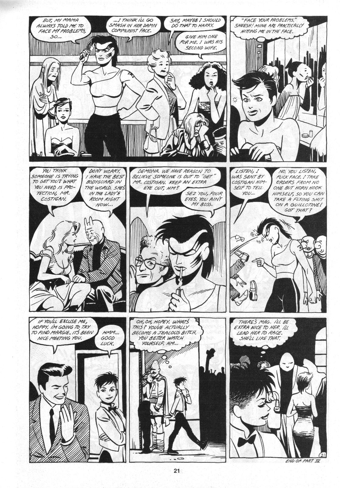 Love and Rockets (1982) Issue #4 #3 - English 23