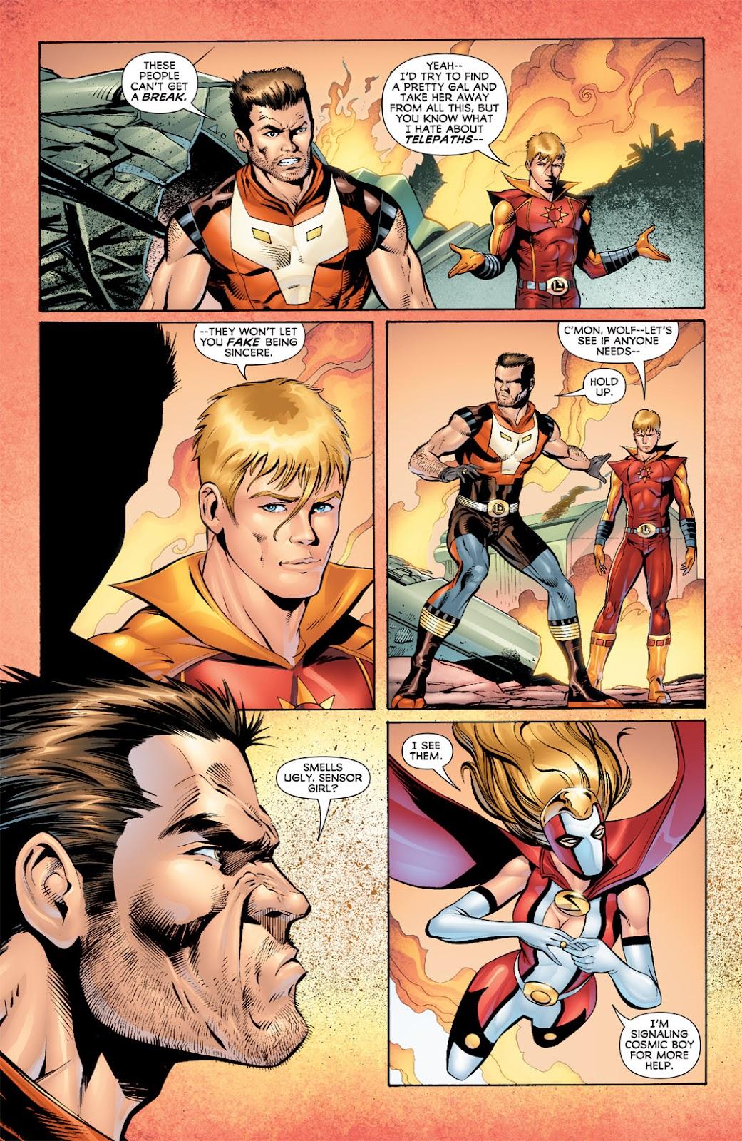 Legion of Super-Heroes (2010) Issue #5 #6 - English 6