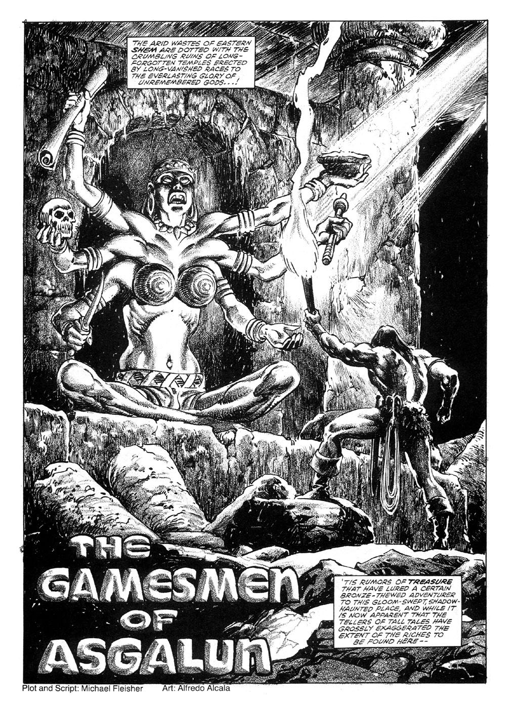 The Savage Sword Of Conan Issue #89 #90 - English 7