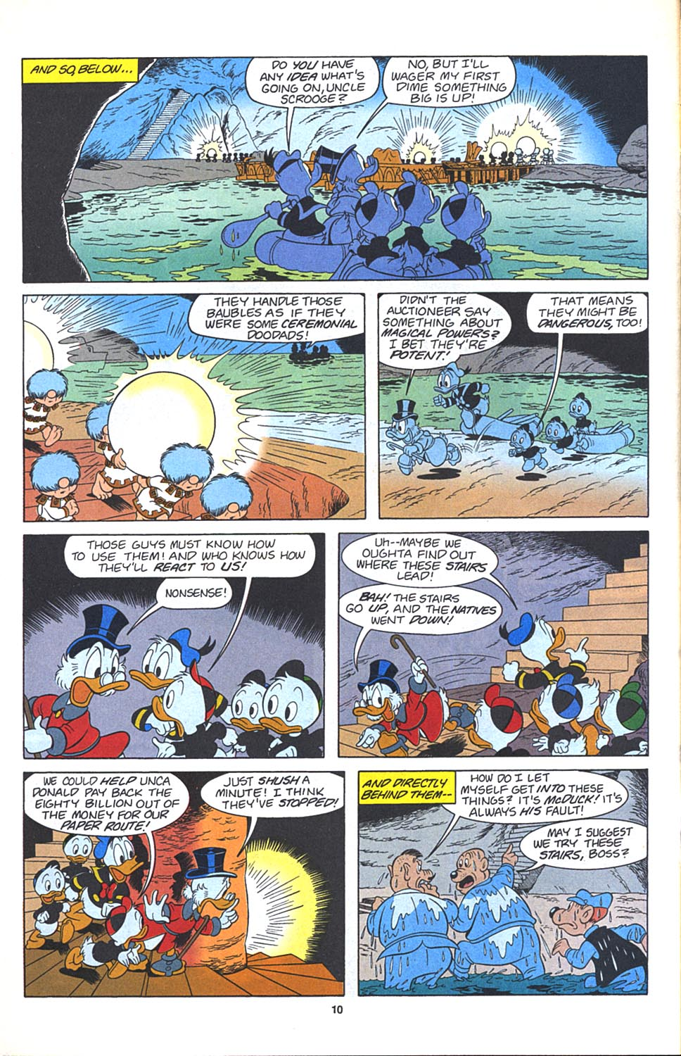 Uncle Scrooge (1953) Issue #271 #271 - English 11