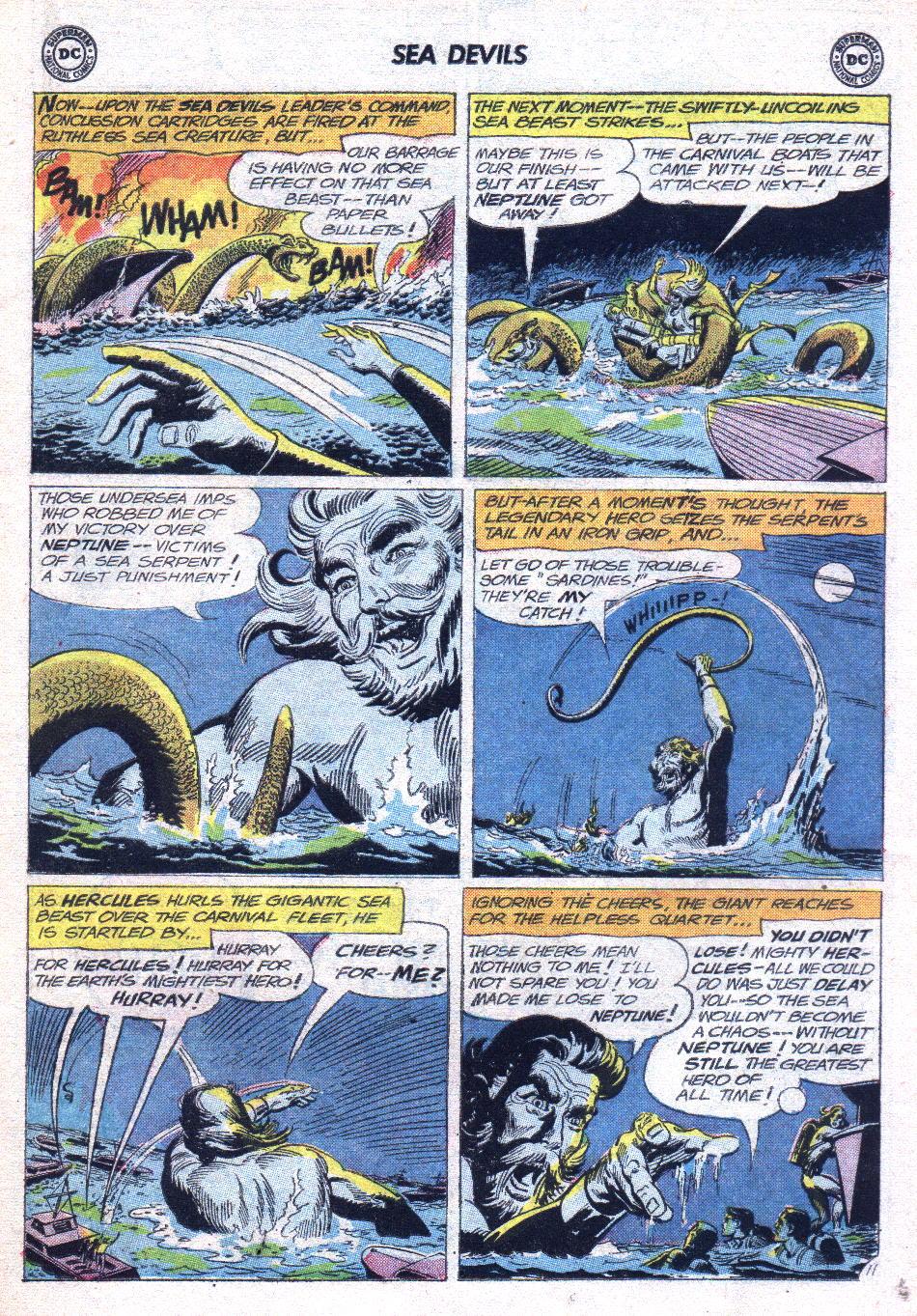 Read online Sea Devils comic -  Issue #14 - 15