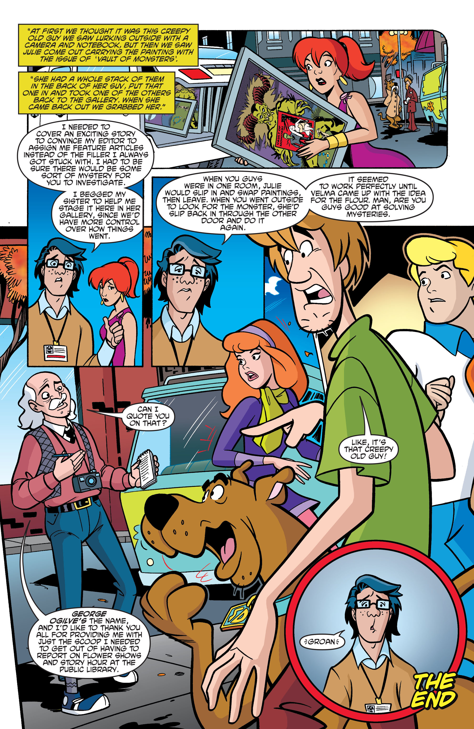 Read online Scooby-Doo: Where Are You? comic -  Issue #69 - 23