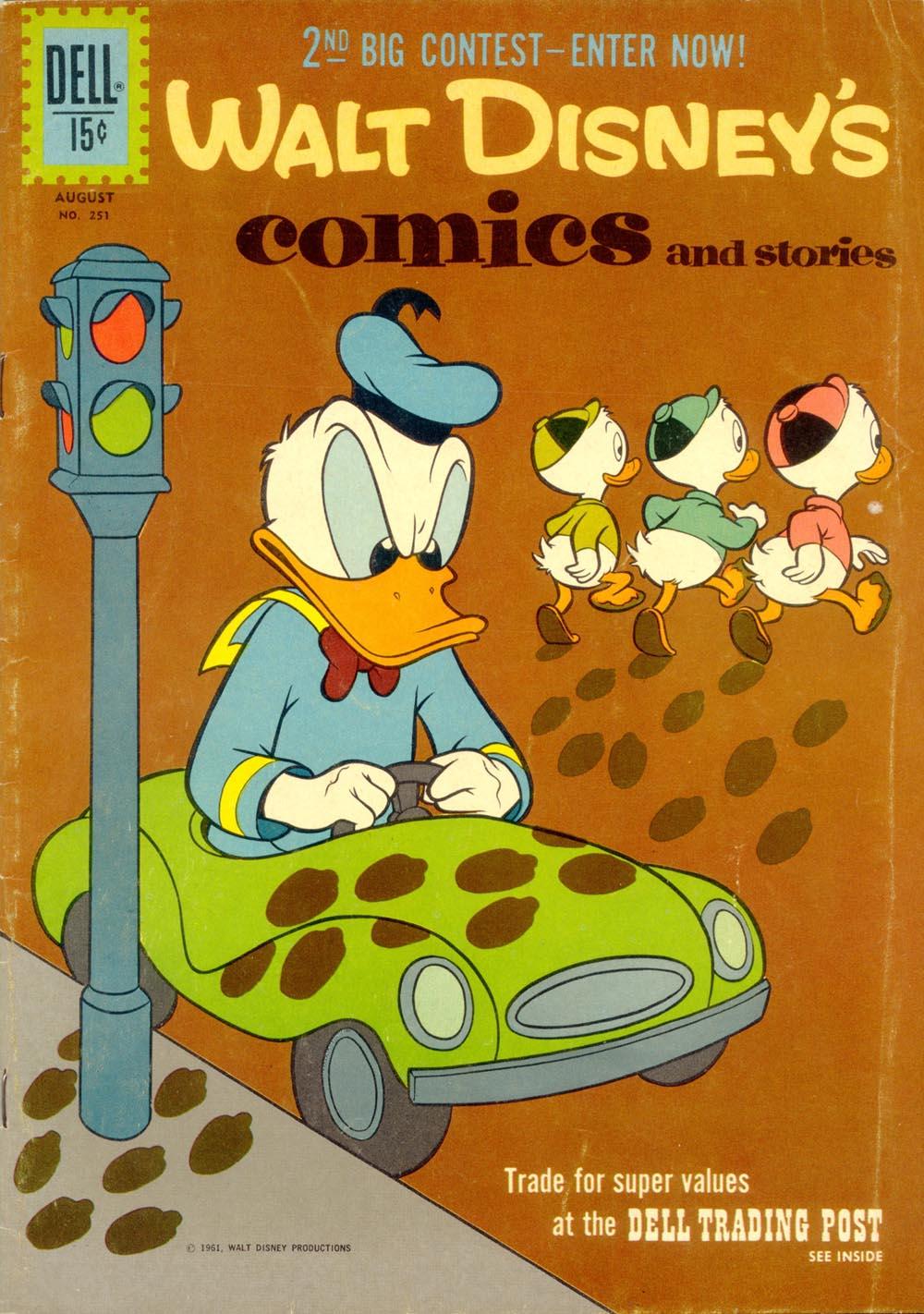Walt Disneys Comics and Stories 251 Page 1
