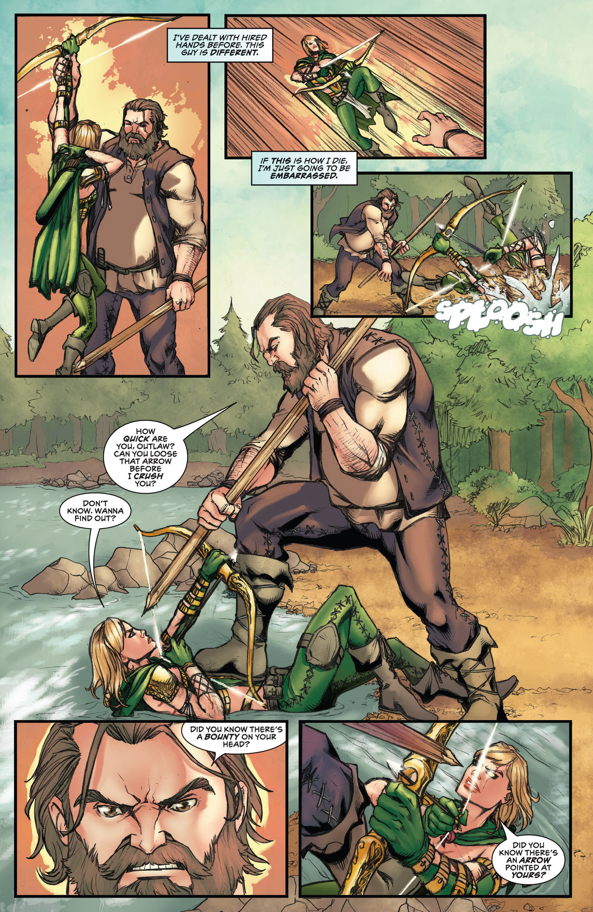 Read online Grimm Fairy Tales presents Robyn Hood (2012) comic -  Issue #3 - 6