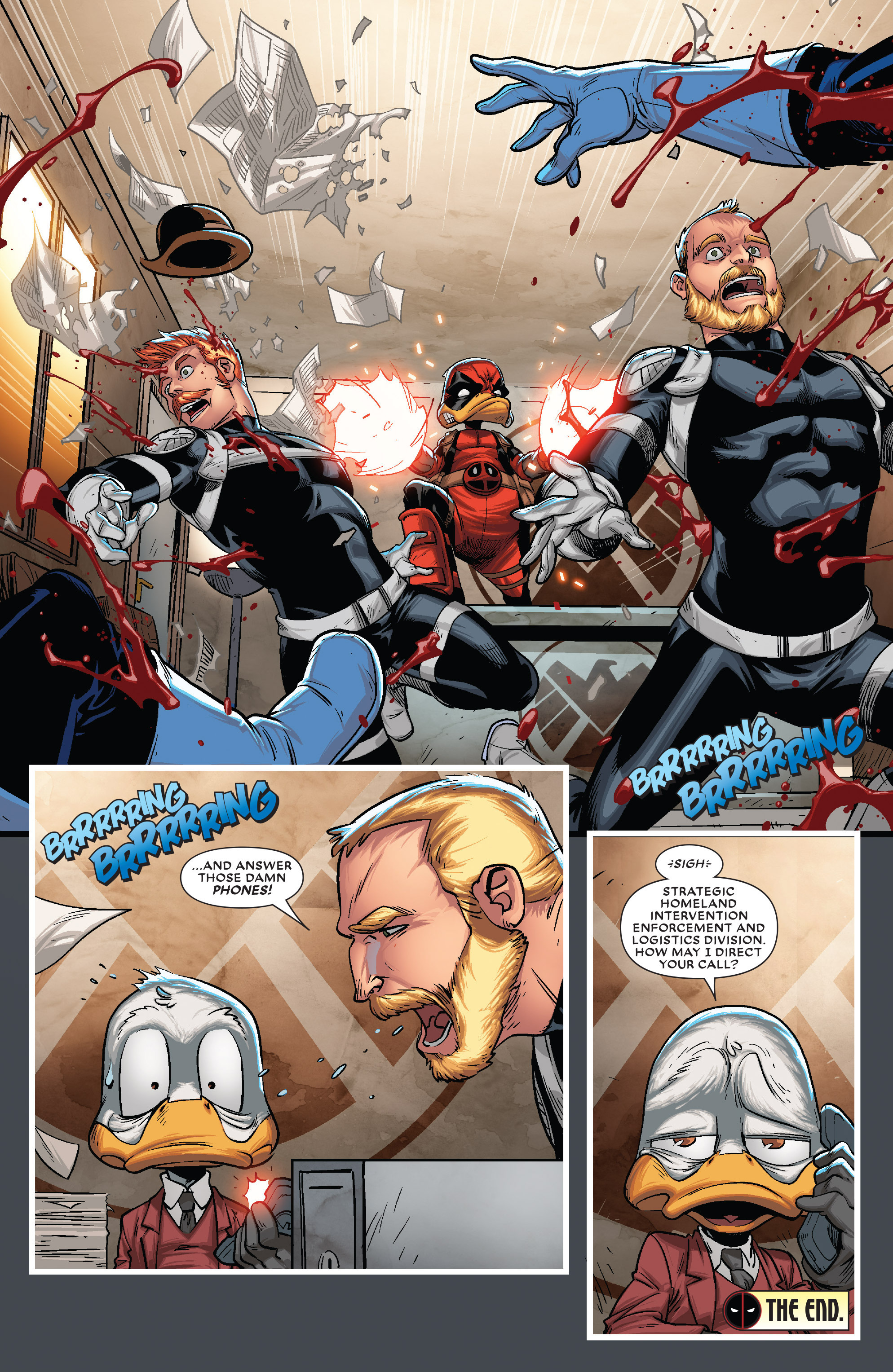 Read online Deadpool The Duck comic -  Issue #5 - 22
