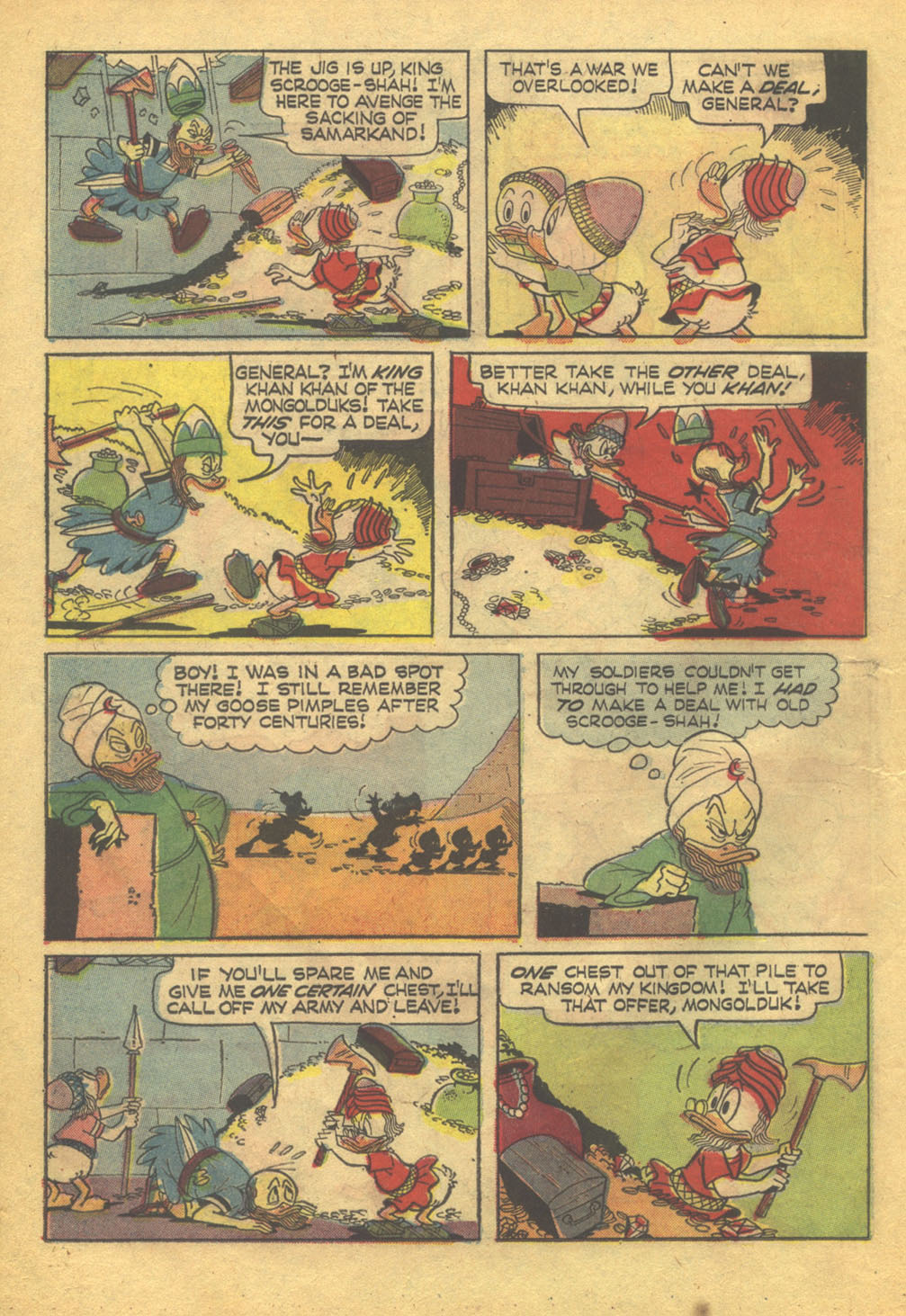 Uncle Scrooge (1953) Issue #71 #71 - English 14