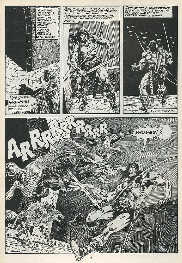 The Savage Sword Of Conan Issue #174 #175 - English 37