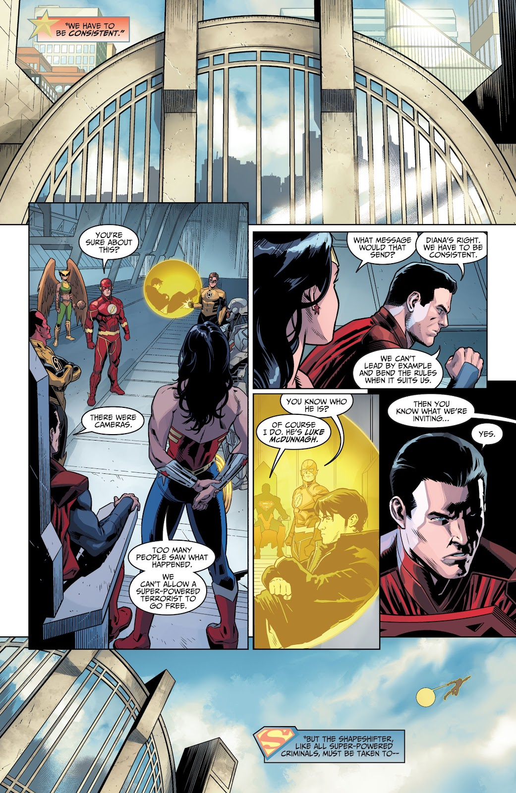 Injustice: Gods Among Us Year Four _Annual 1 #1 - English 8