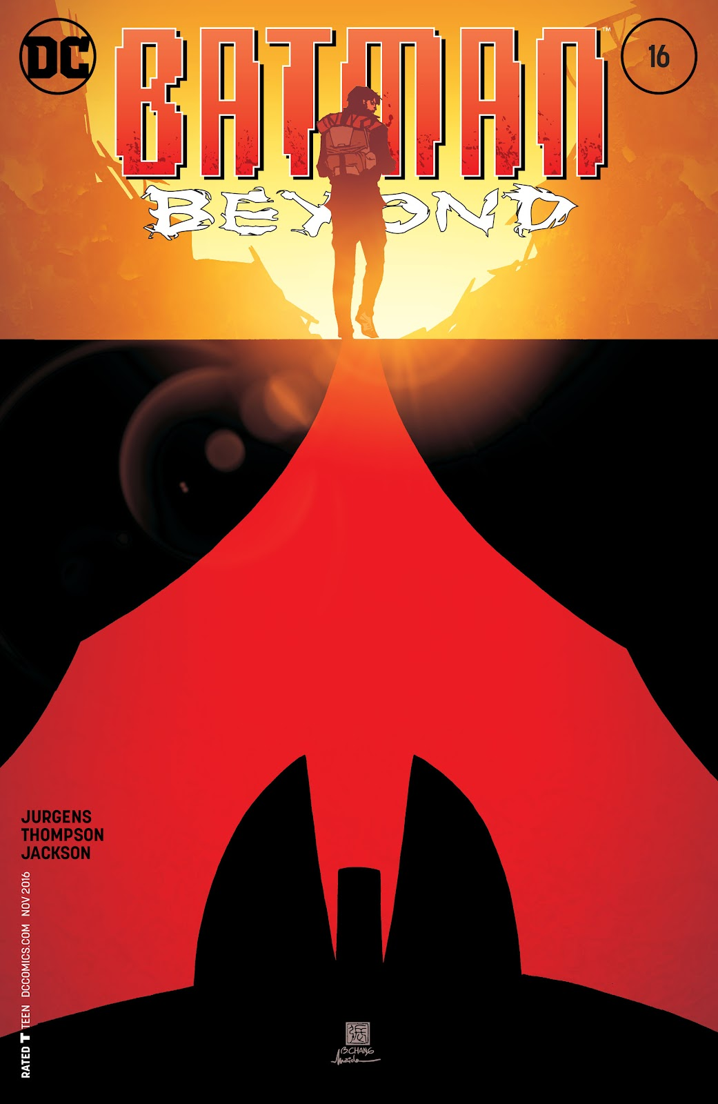 Batman Beyond (2015) Issue #16 #16 - English 1