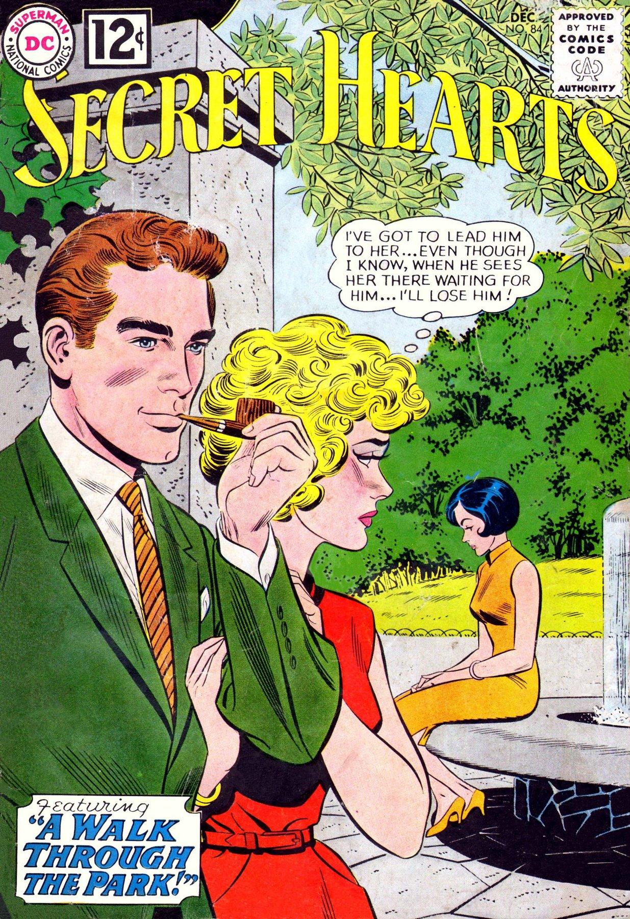 Read online Secret Hearts comic -  Issue #84 - 1