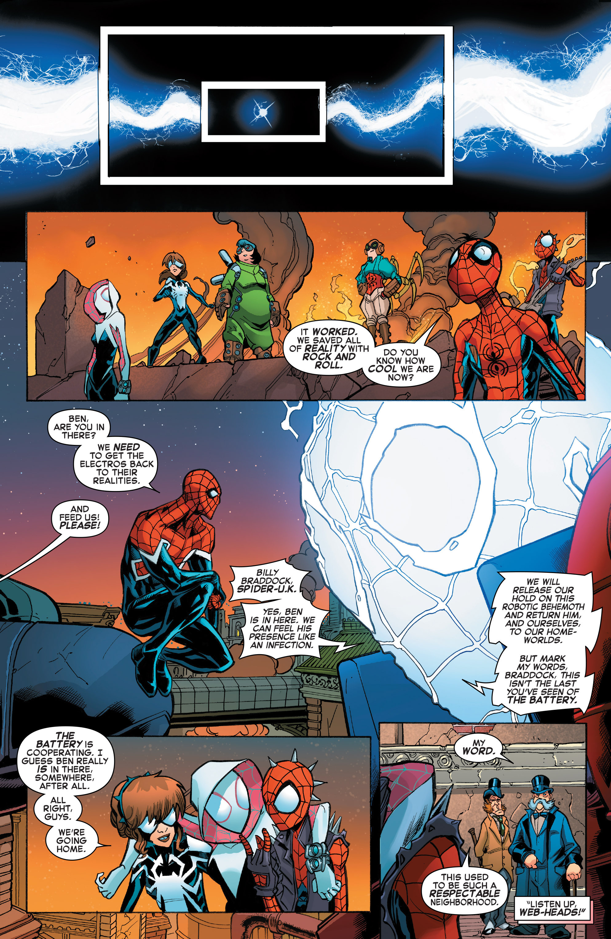 Read online Web Warriors comic -  Issue #11 - 19