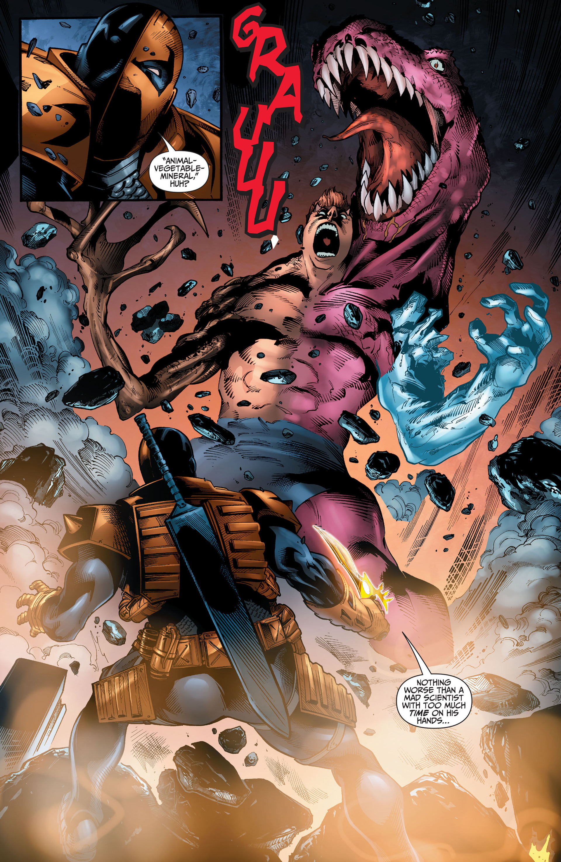 Read online The Ravagers comic -  Issue #11 - 12