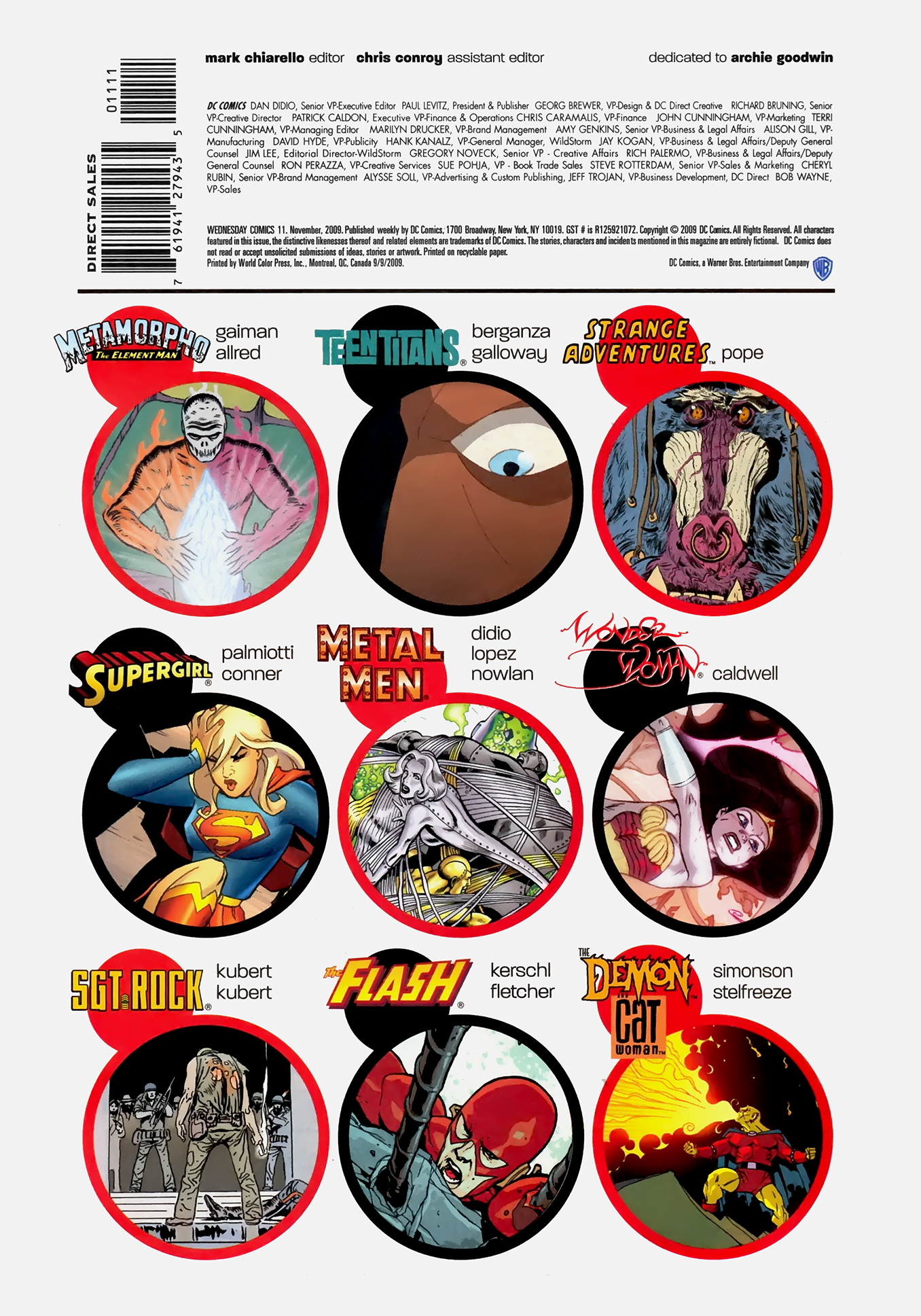 Read online Wednesday Comics comic -  Issue #11 - 18