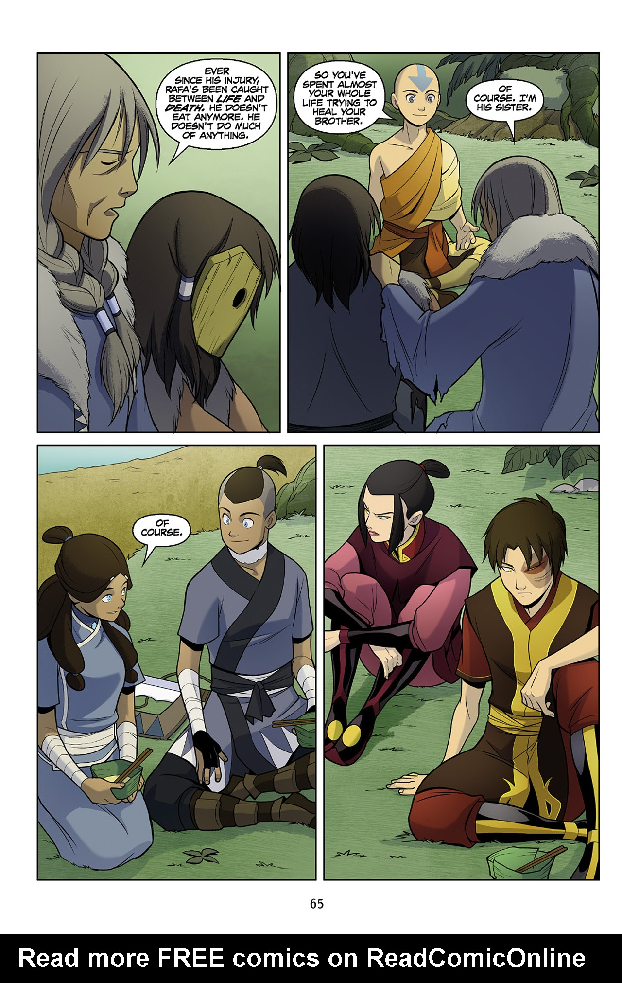 Read online Nickelodeon Avatar: The Last Airbender - The Search comic -  Issue # Part 2 - 66