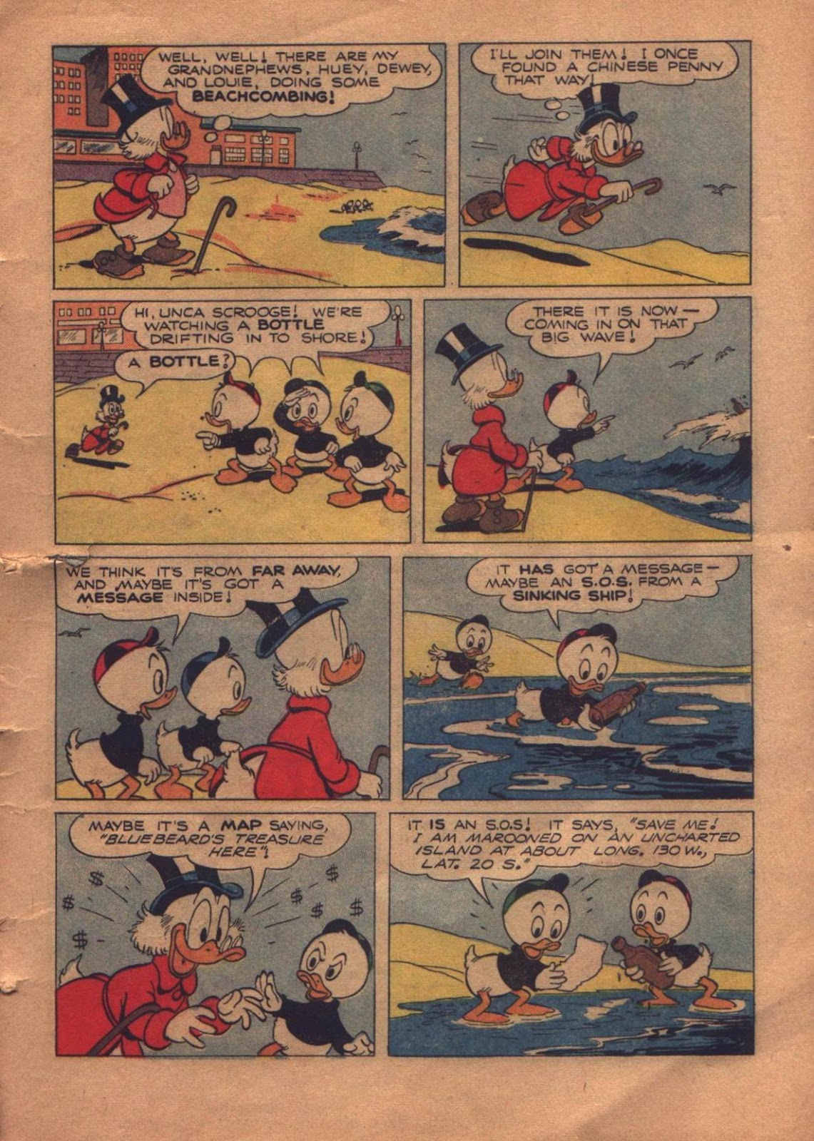 Uncle Scrooge (1953) Issue #8 #8 - English 5