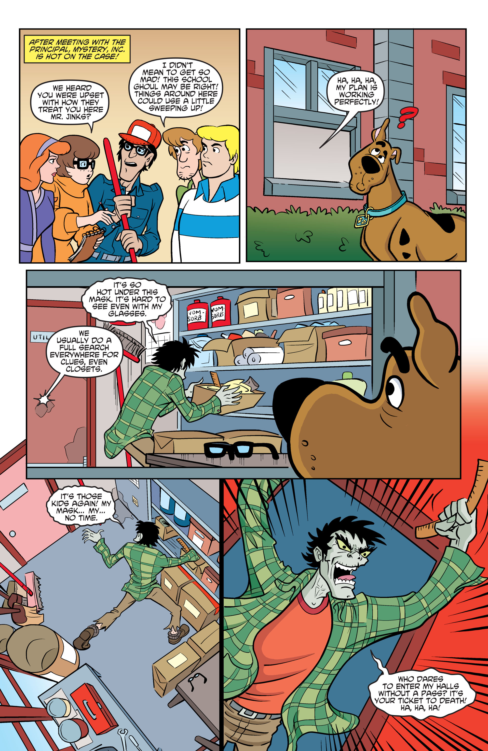 Read online Scooby-Doo: Where Are You? comic -  Issue #70 - 20
