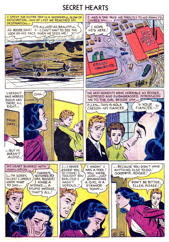 Read online Secret Hearts comic -  Issue #41 - 6