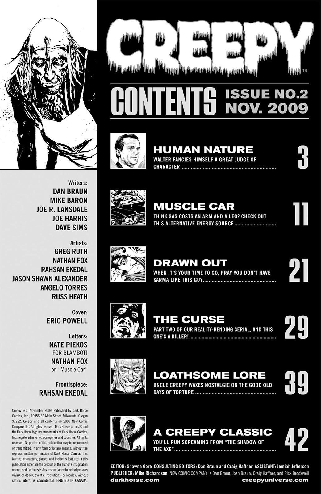 Creepy (2009) Issue #2 #2 - English 3