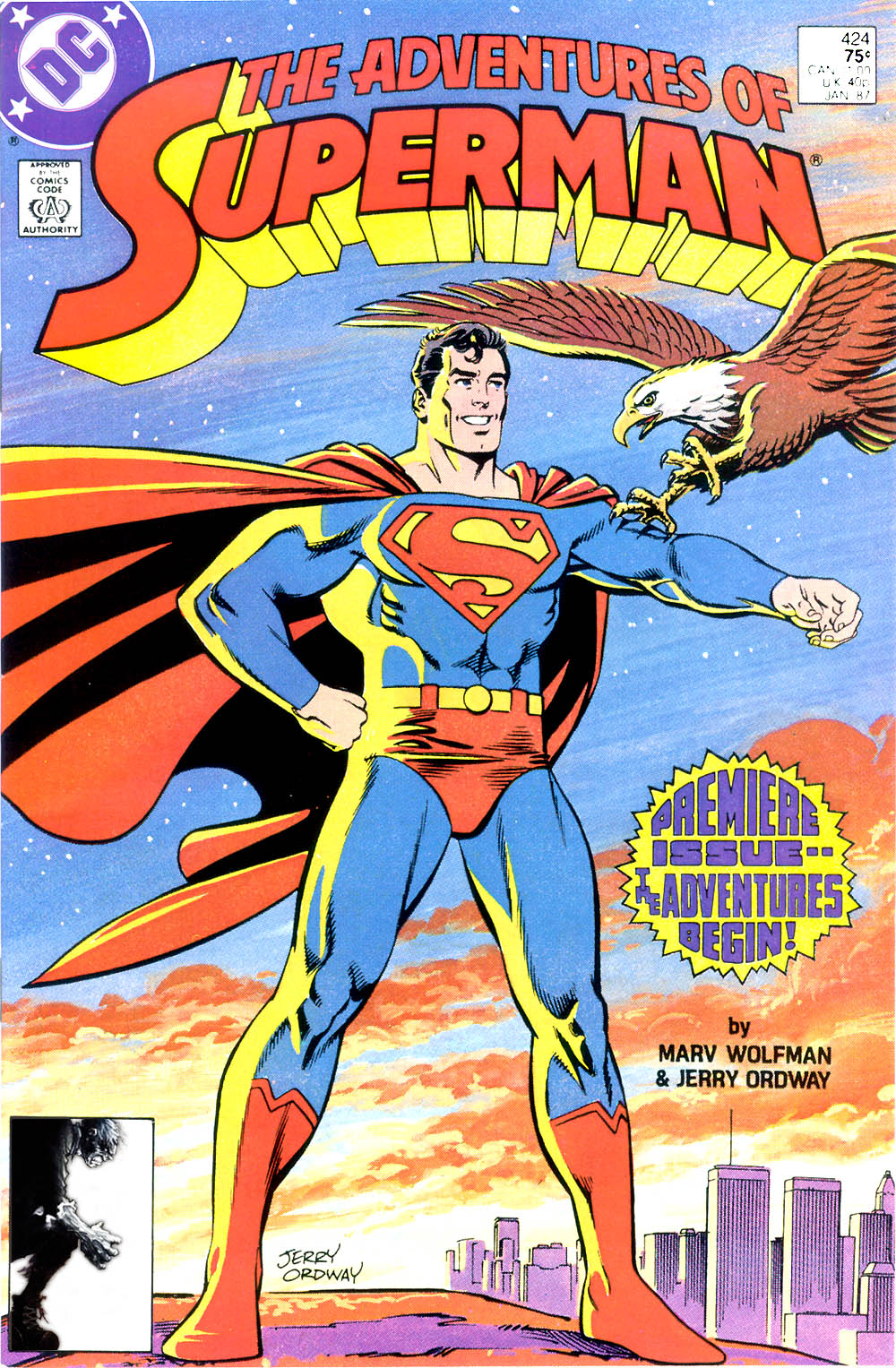 Adventures of Superman (1987) 424 Page 1