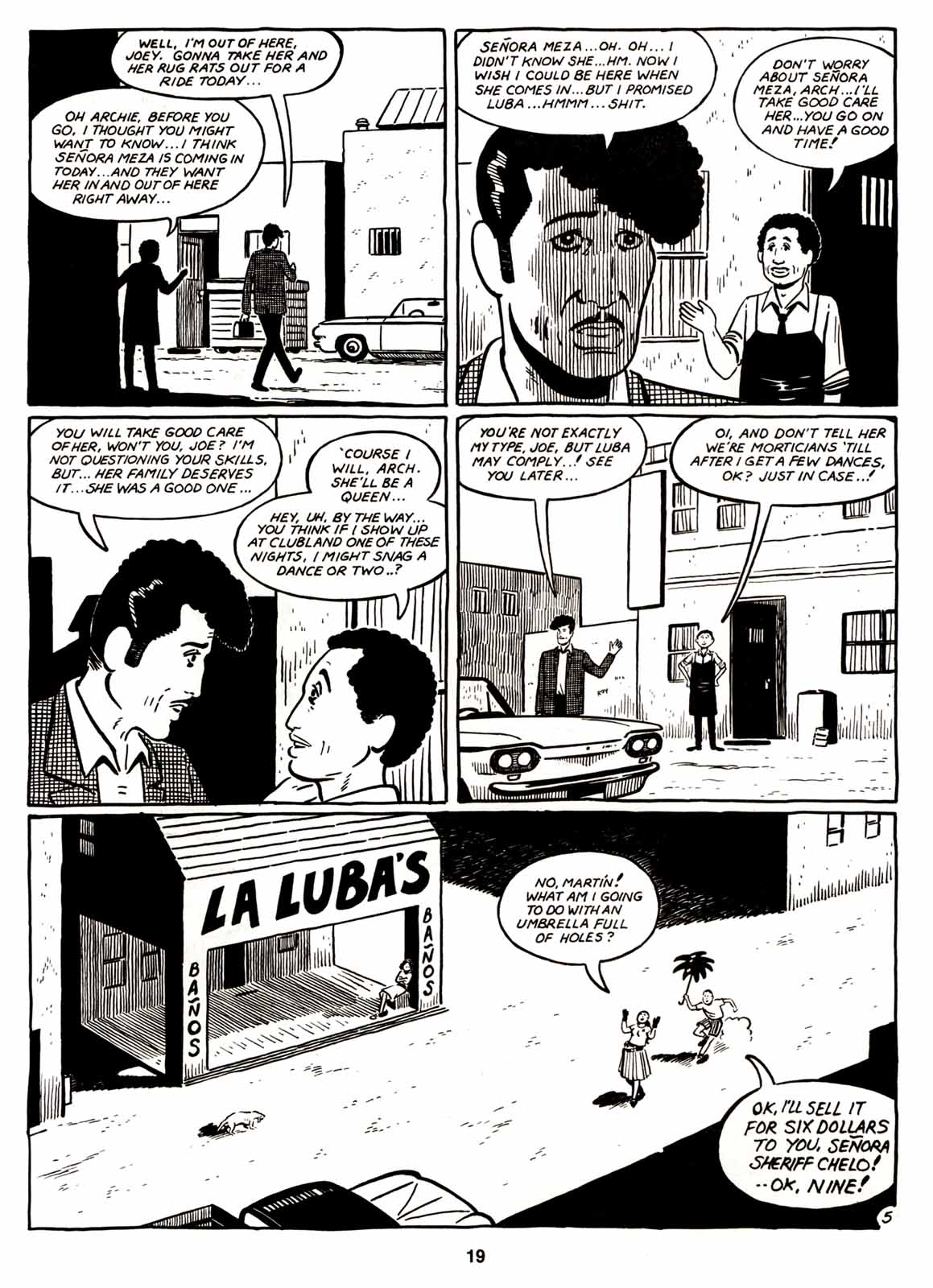 Love and Rockets (1982) Issue #6 #5 - English 21