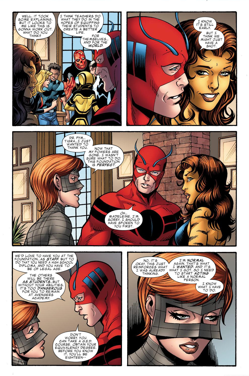 Avengers Academy Issue #39 #40 - English 20