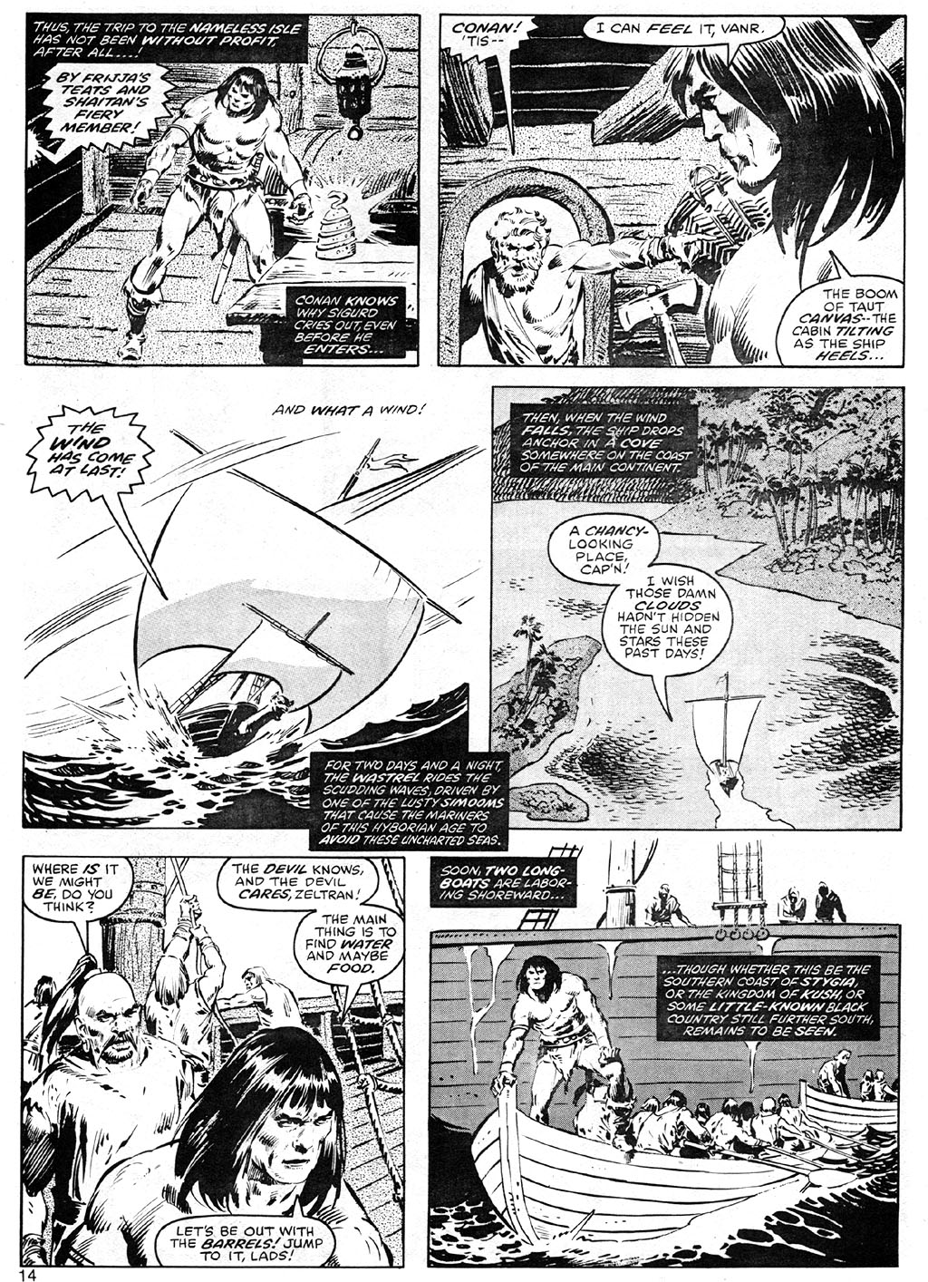 The Savage Sword Of Conan Issue #41 #42 - English 14