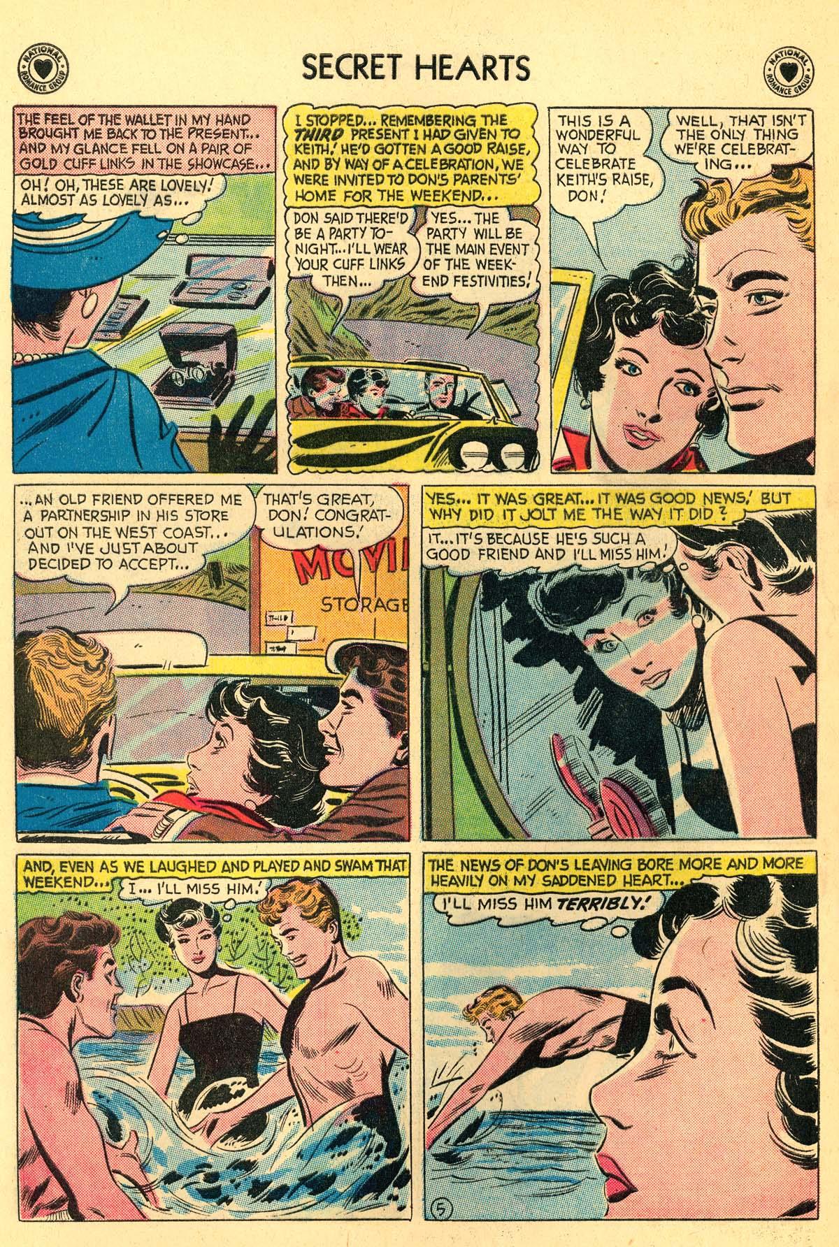 Read online Secret Hearts comic -  Issue #55 - 24