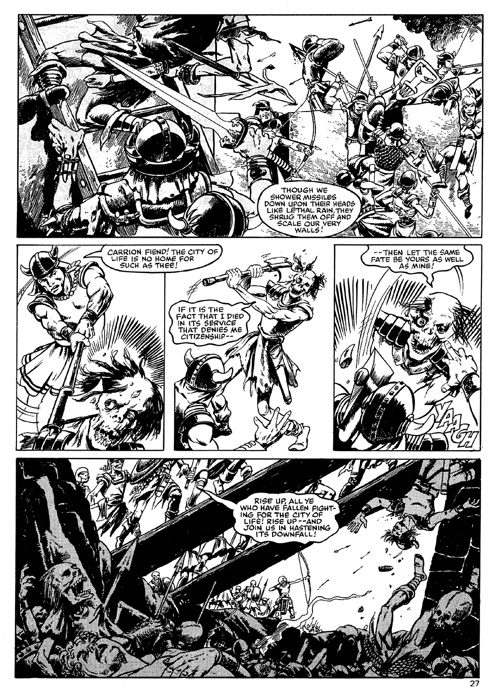 The Savage Sword Of Conan Issue #110 #111 - English 26