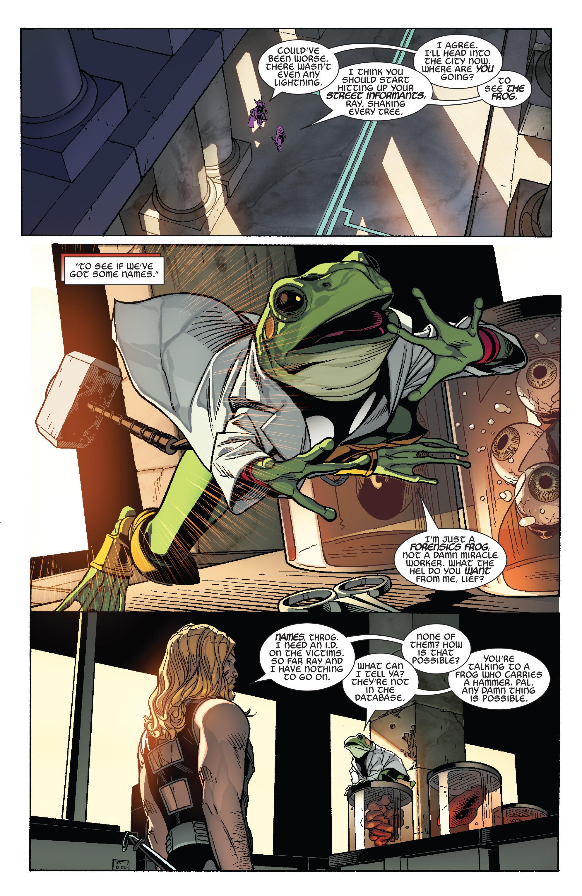 Thors #1 #4 - English 13