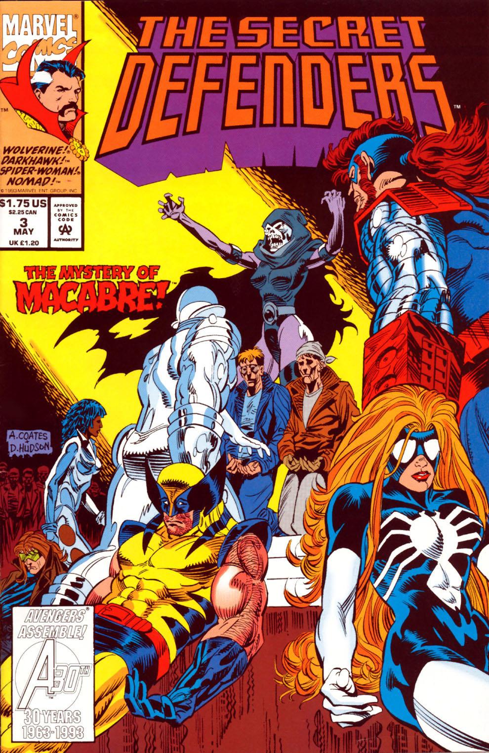 Read online Secret Defenders comic -  Issue #3 - 1