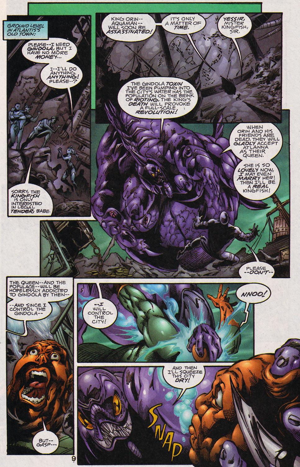 Aquaman (1994) Issue #59 #65 - English 10