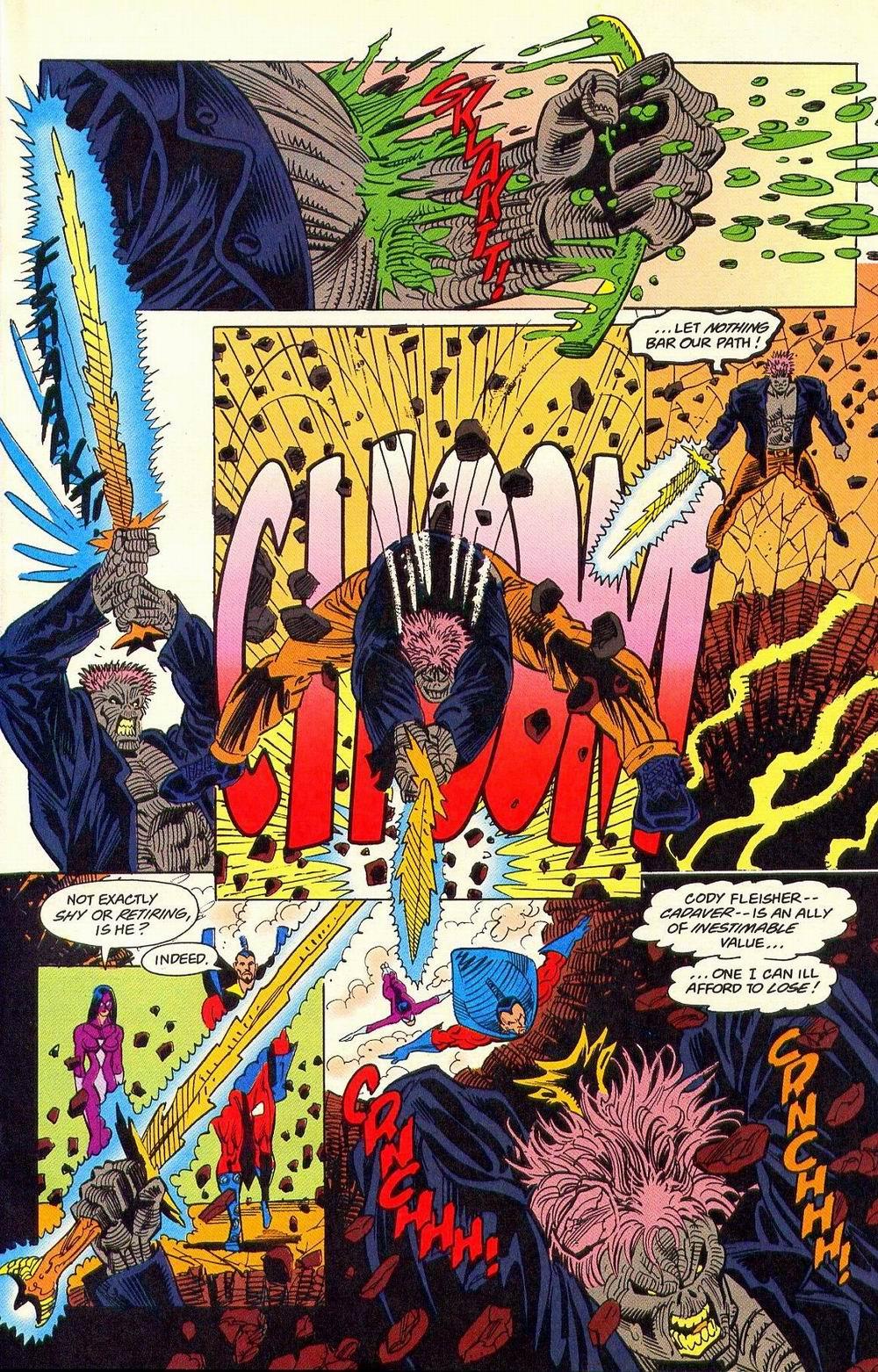 Read online Secret Defenders comic -  Issue #18 - 11