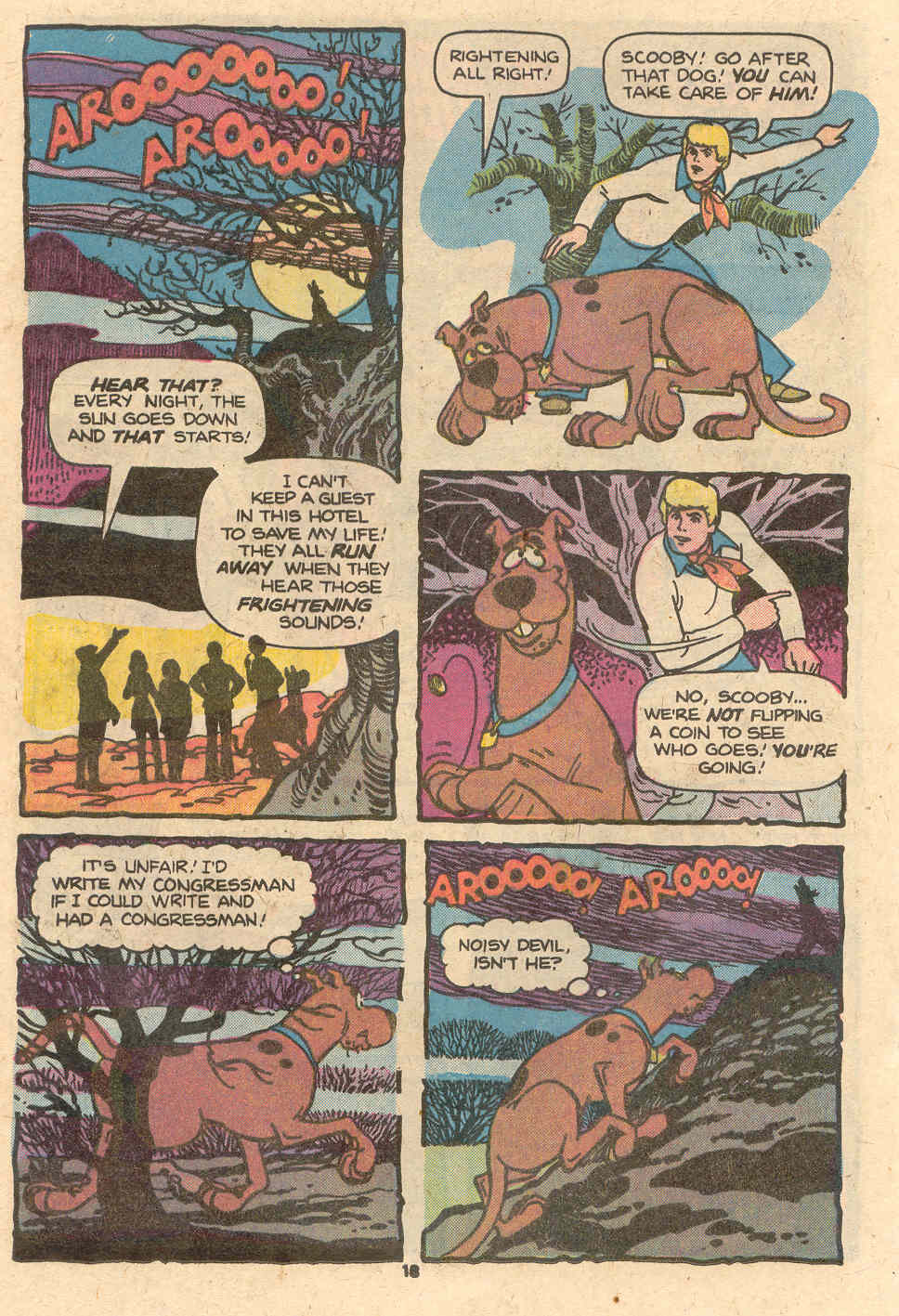 Read online Scooby-Doo (1977) comic -  Issue #1 - 13