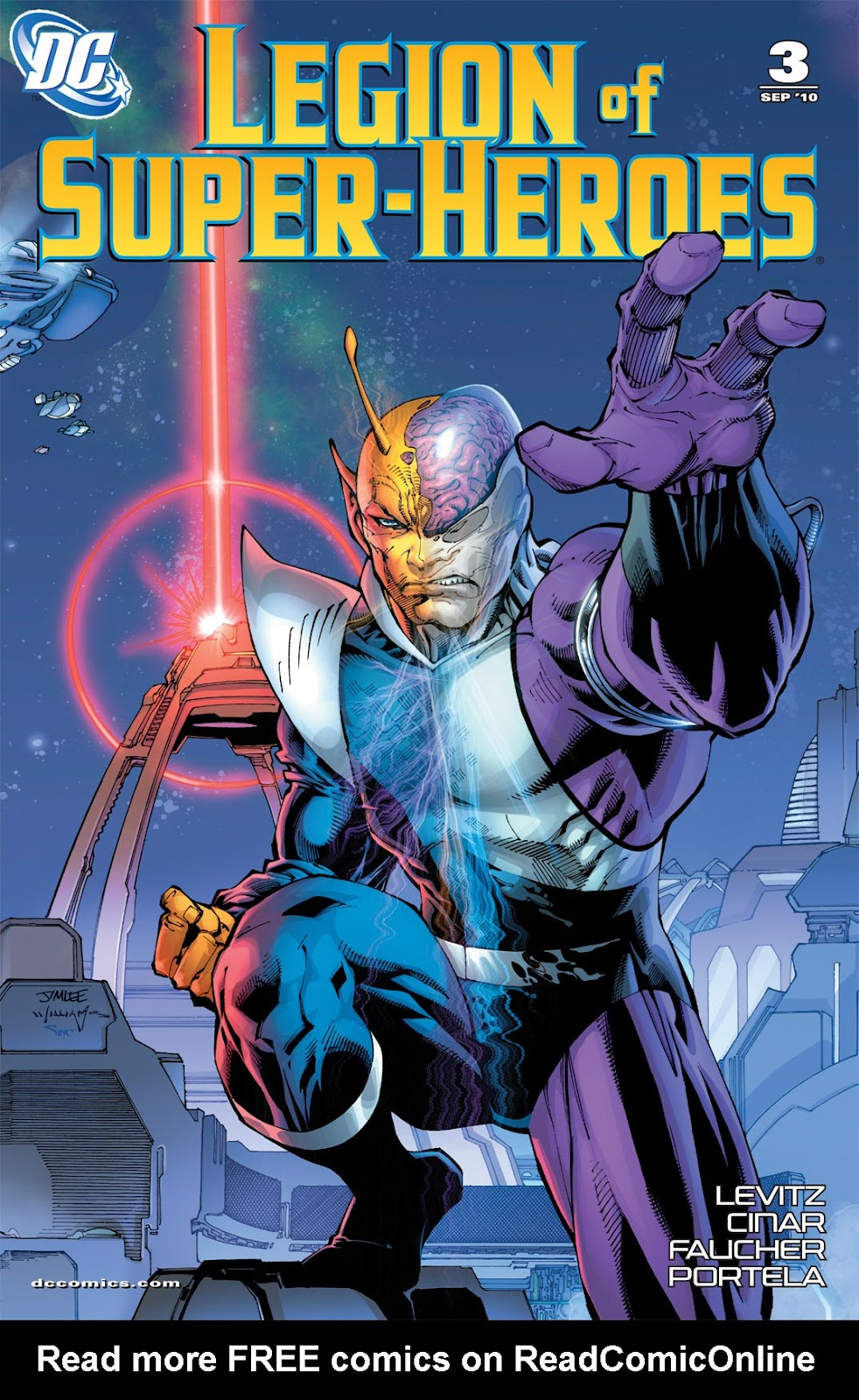 Legion of Super-Heroes (2010) Issue #3 #4 - English 2