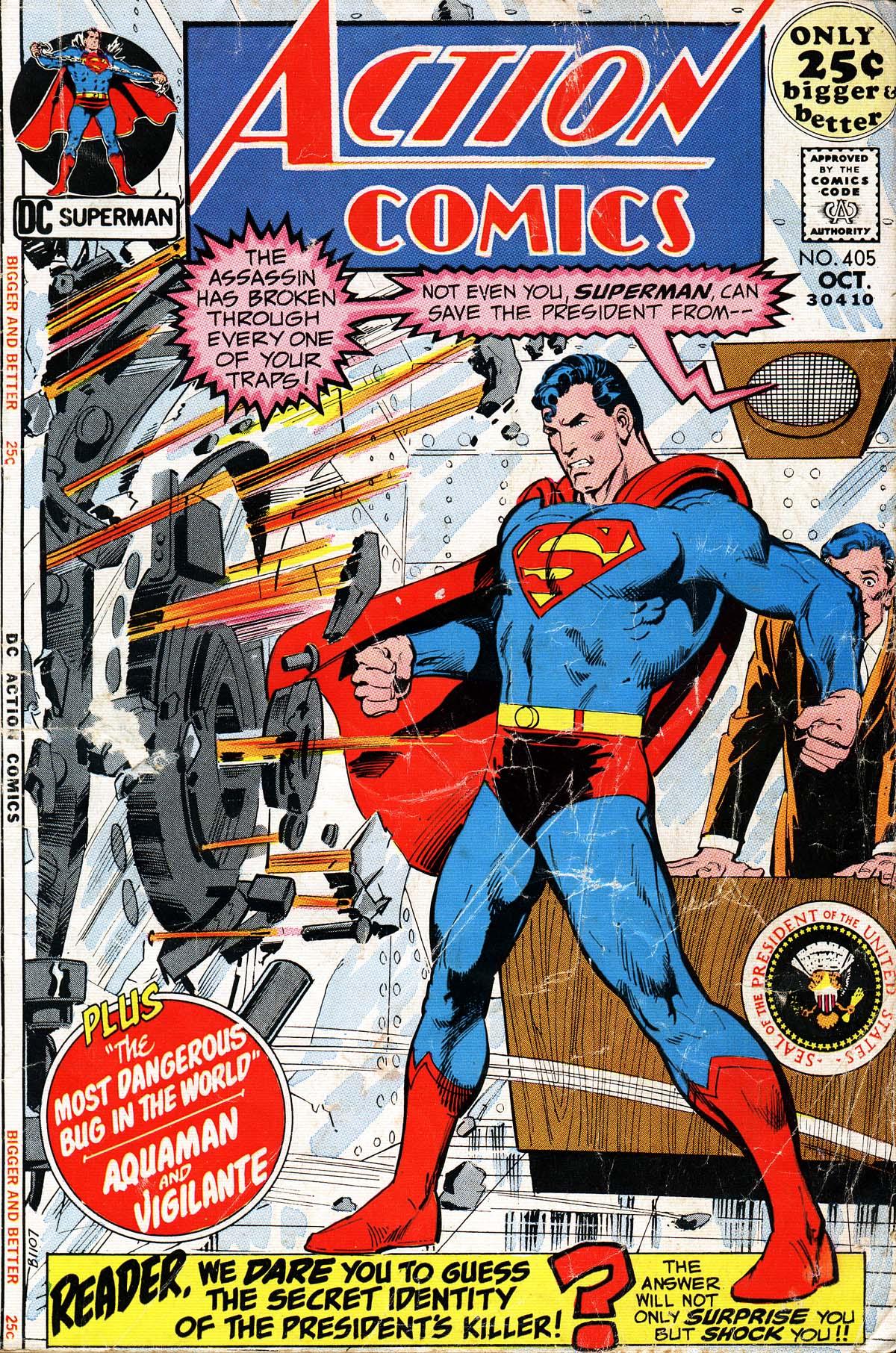 Action Comics (1938) 405 Page 1