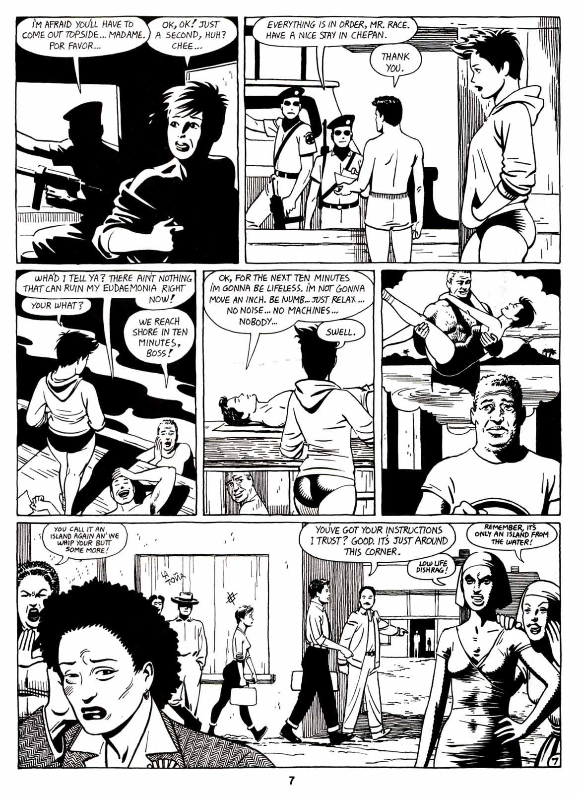 Love and Rockets (1982) Issue #7 #6 - English 9