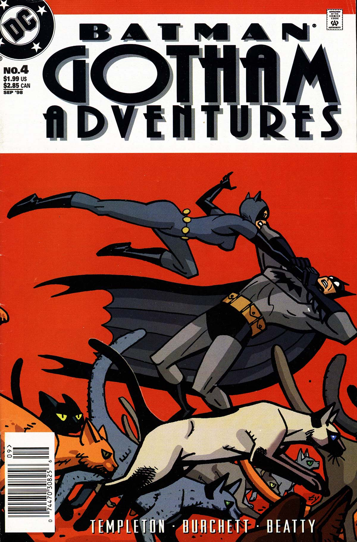 Batman: Gotham Adventures 4 Page 1