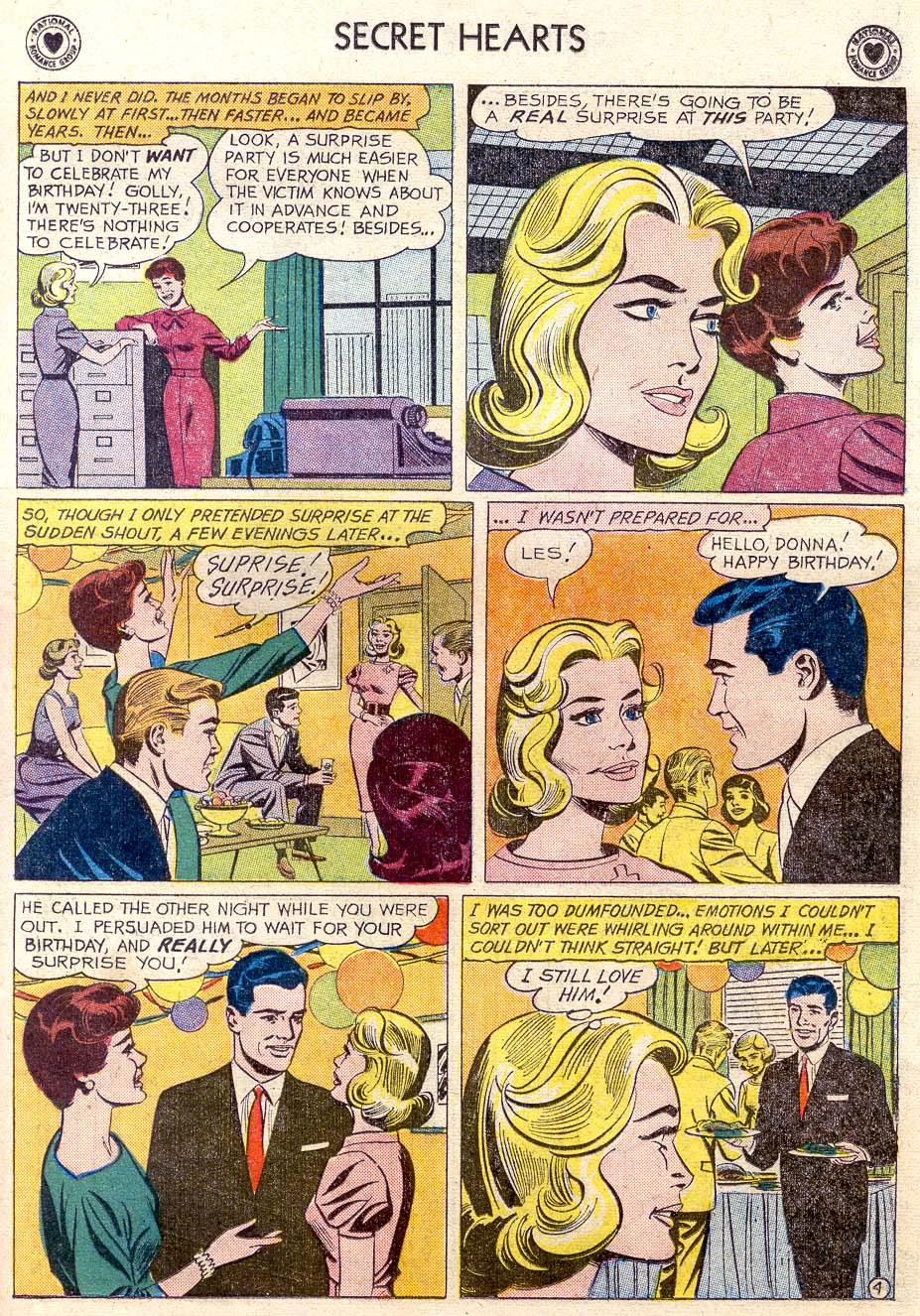 Read online Secret Hearts comic -  Issue #65 - 22