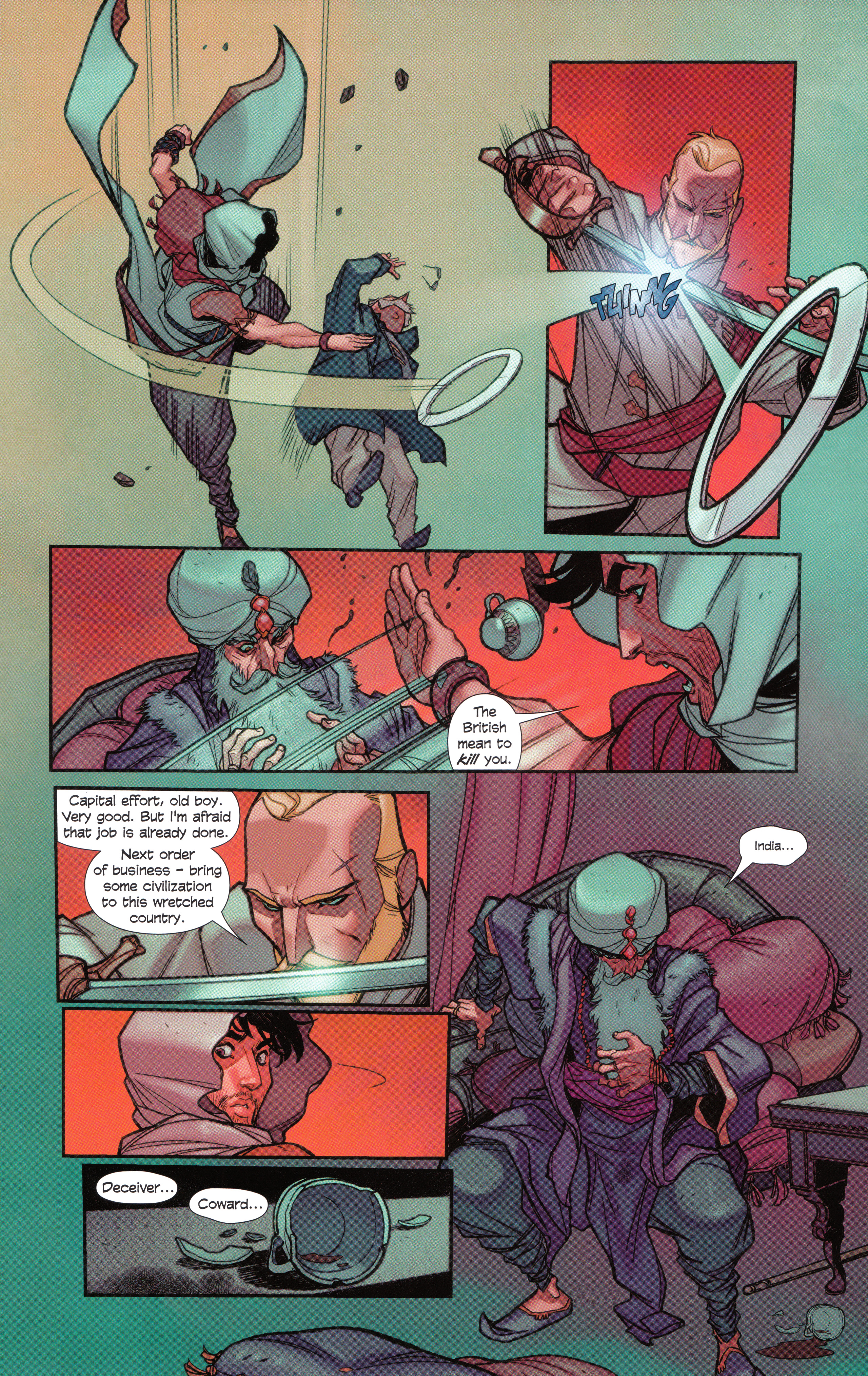 Read online Assassin's Creed Brahman comic -  Issue #Assassin's Creed Brahman Full - 73