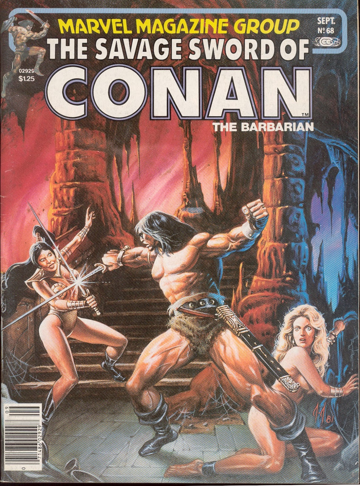 The Savage Sword Of Conan Issue #68 #69 - English 1