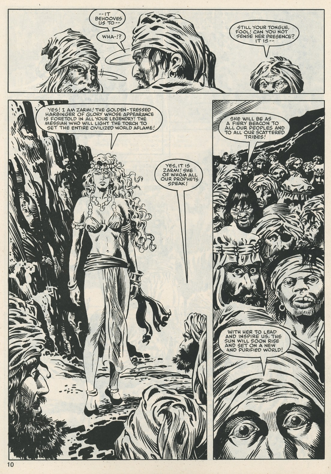 The Savage Sword Of Conan Issue #112 #113 - English 10