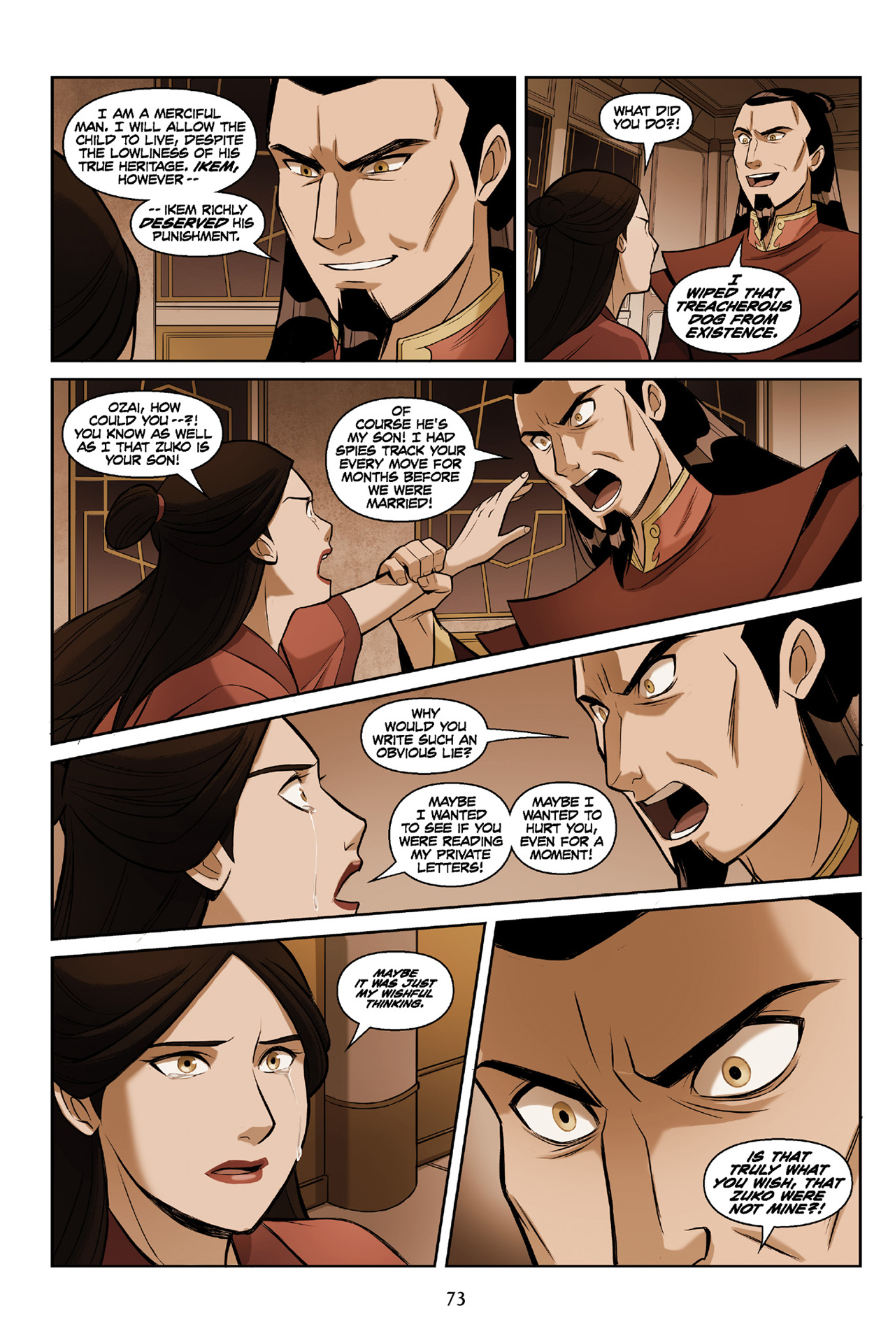 Read online Nickelodeon Avatar: The Last Airbender - The Search comic -  Issue # Part 3 - 73