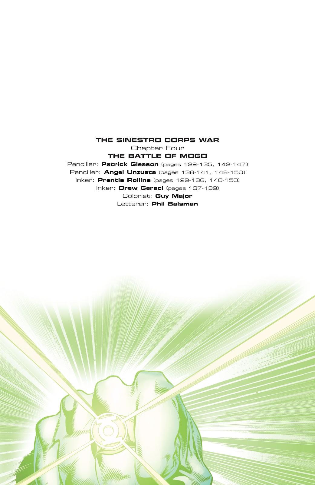Green Lantern: The Sinestro Corps War Full #1 - English 113