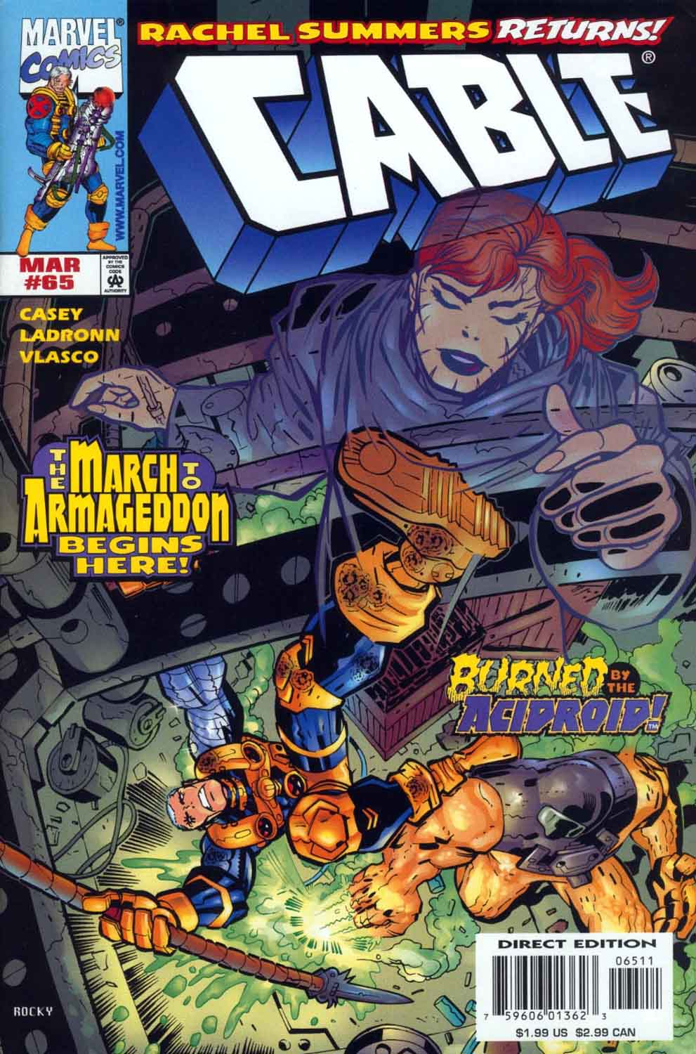 Cable (1993) 65 Page 1