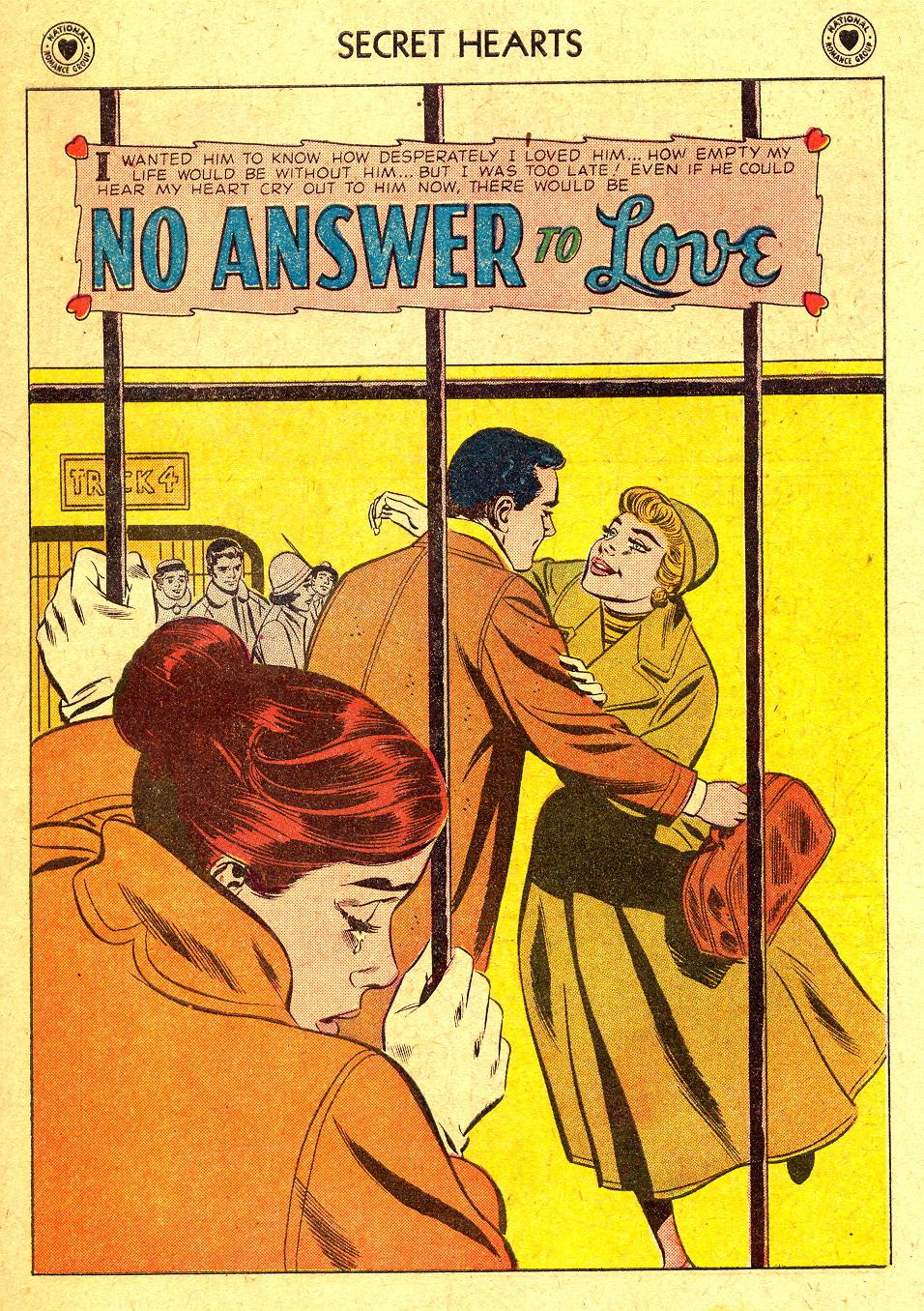 Read online Secret Hearts comic -  Issue #45 - 27