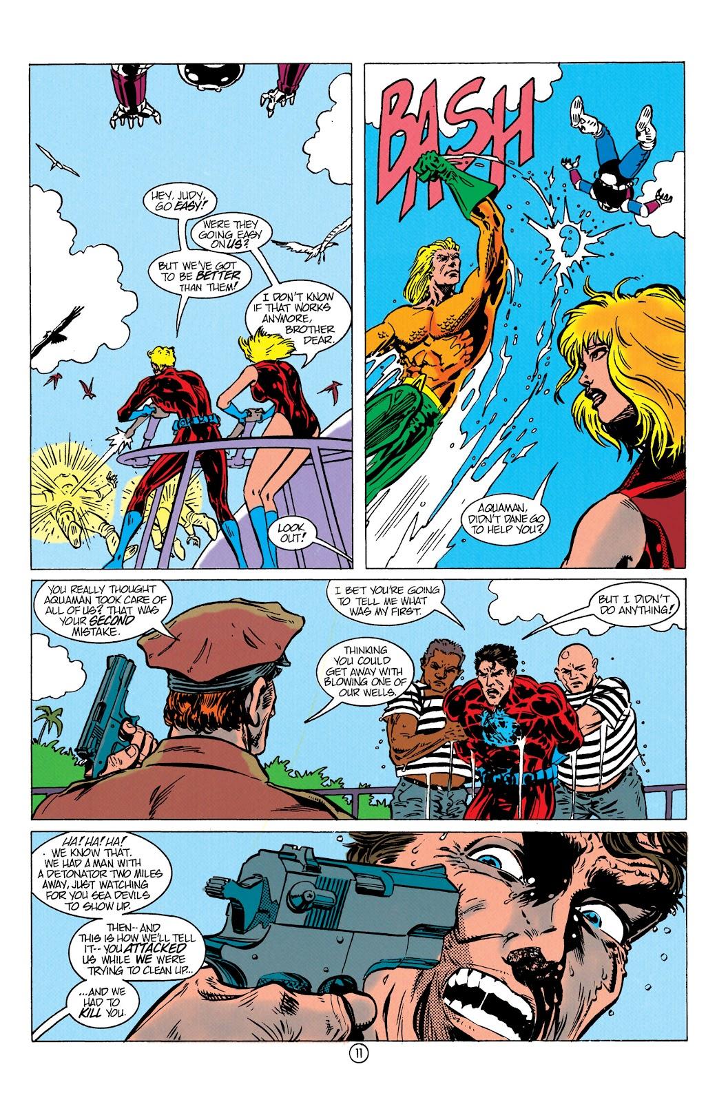Aquaman (1991) Issue #10 #10 - English 12