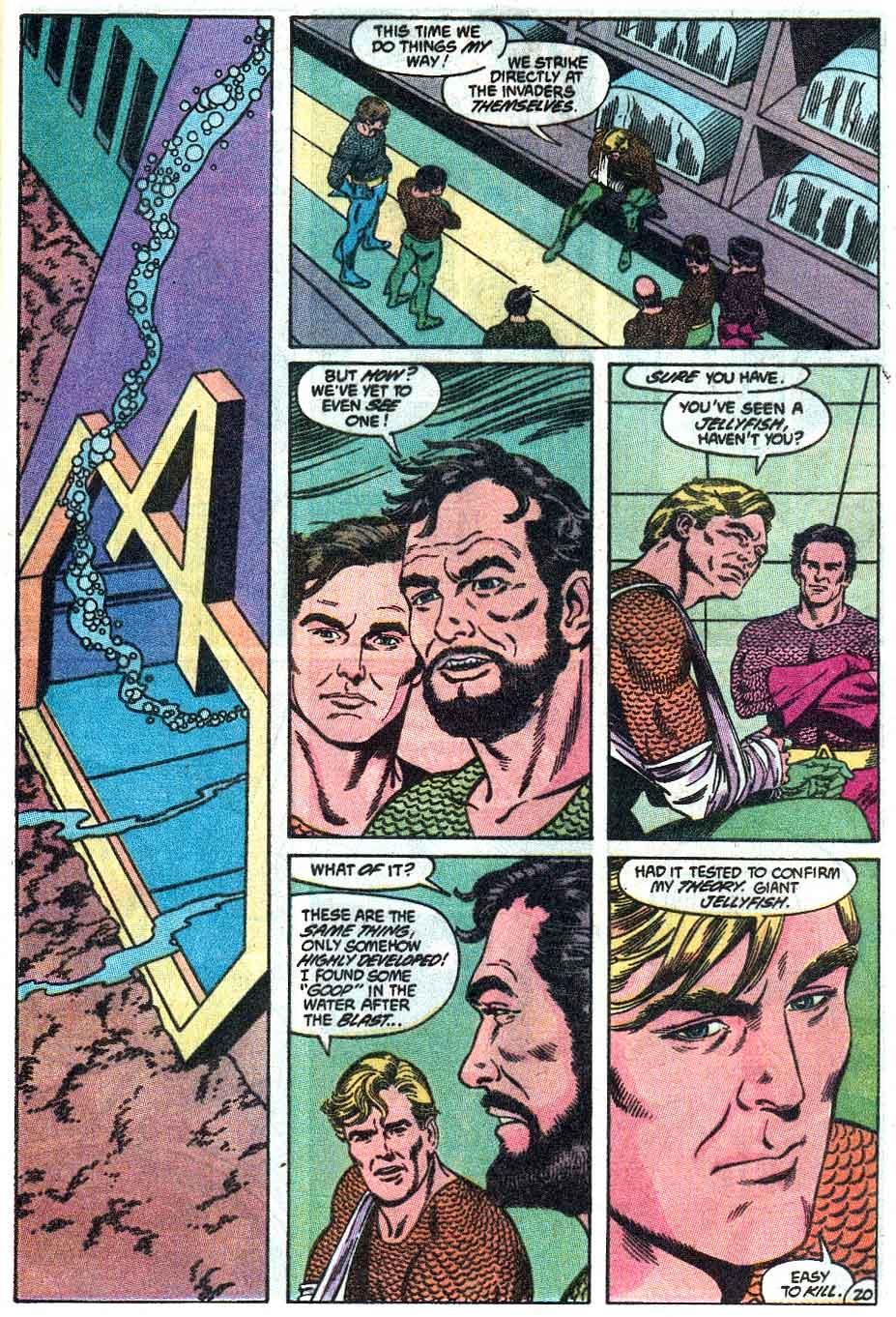 Aquaman (1989) Issue #2 #2 - English 21