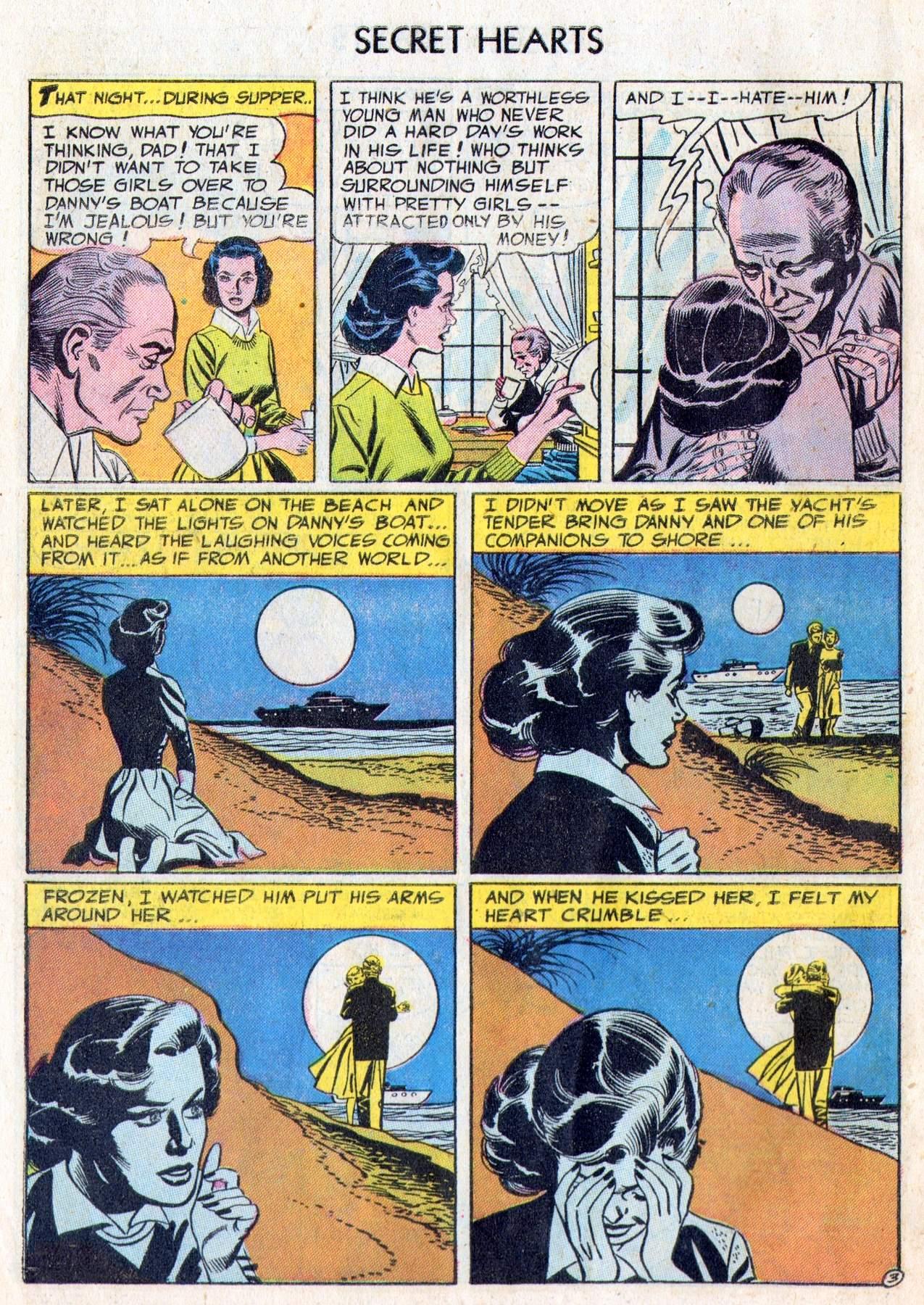 Read online Secret Hearts comic -  Issue #28 - 28